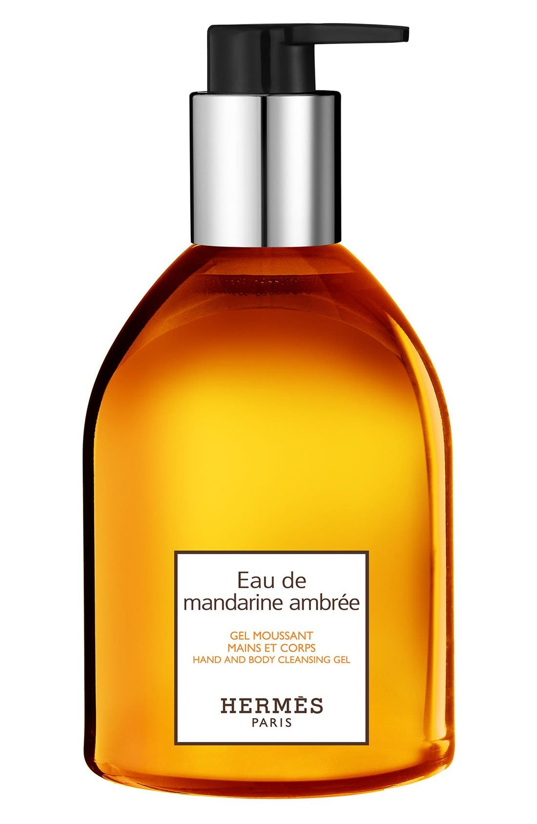 HERMÈS Eau de Mandarine Ambrée - Hand and body cleansing gel, Main, color, 000