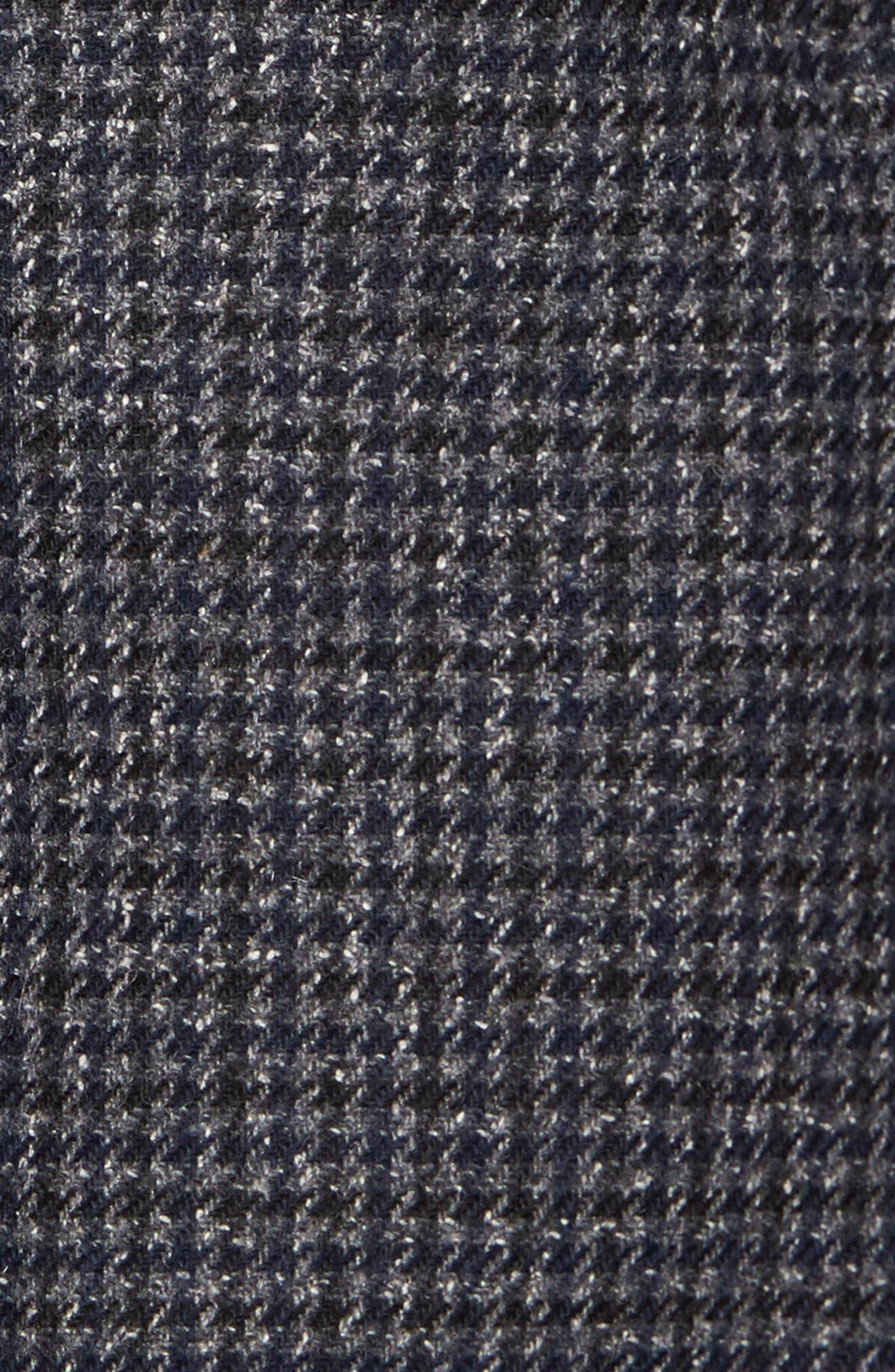 Wool Blend Houndstooth Blazer,                             Alternate thumbnail 6, color,                             411