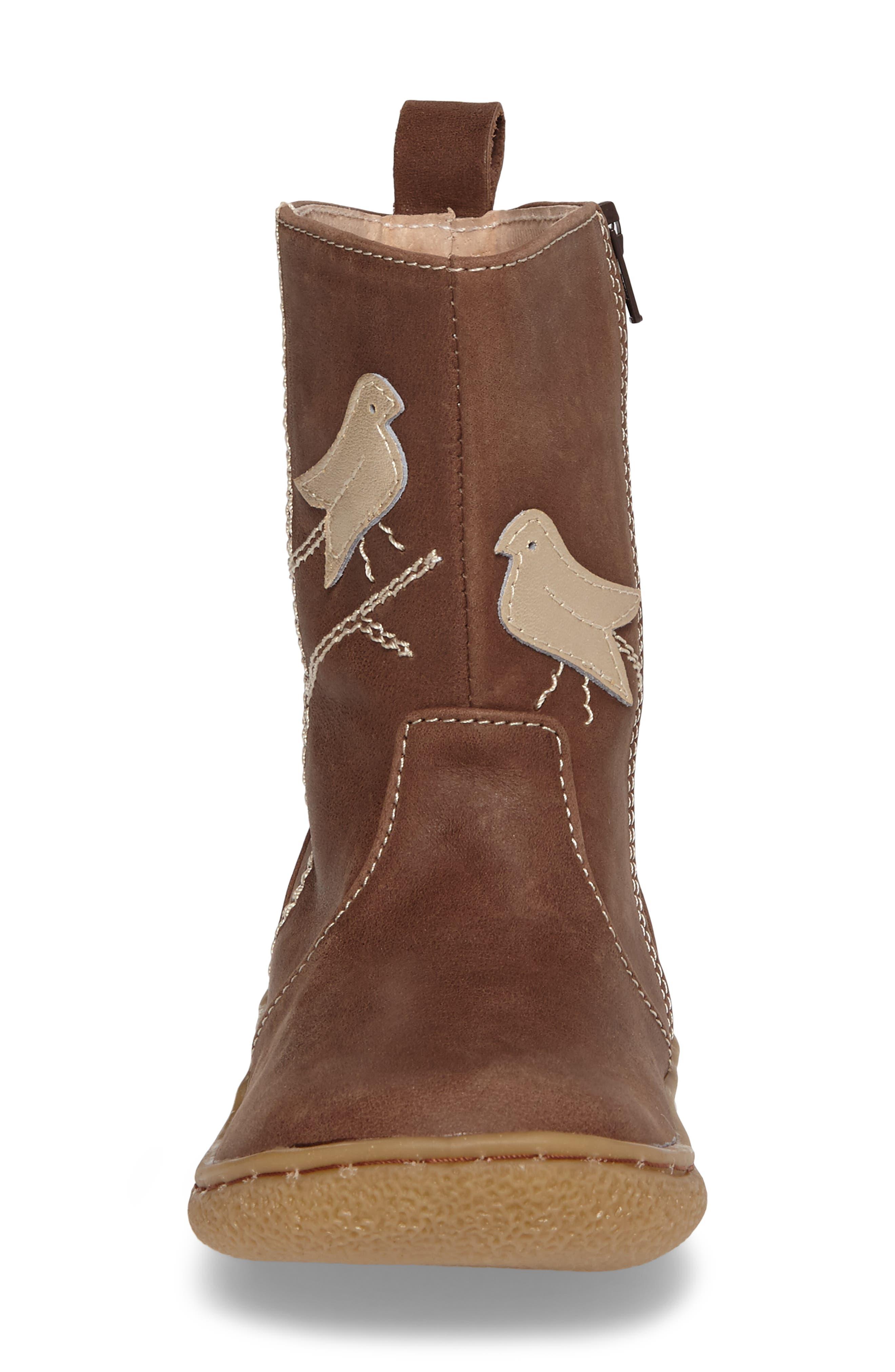 Pio Pio Bird Appliqué Boot,                             Alternate thumbnail 10, color,