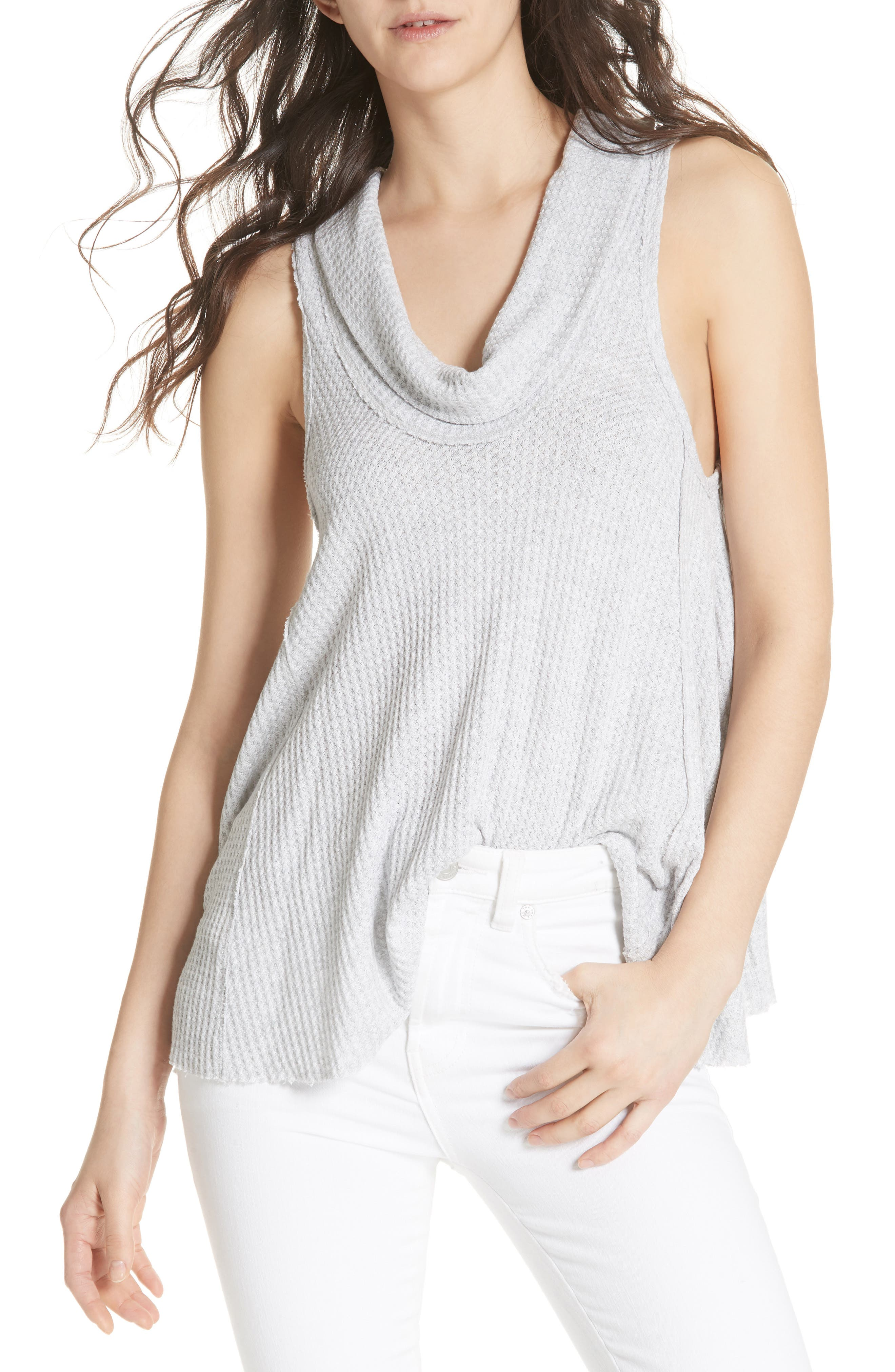 We the Free by Free People Swing It Cowl Tank,                             Main thumbnail 2, color,