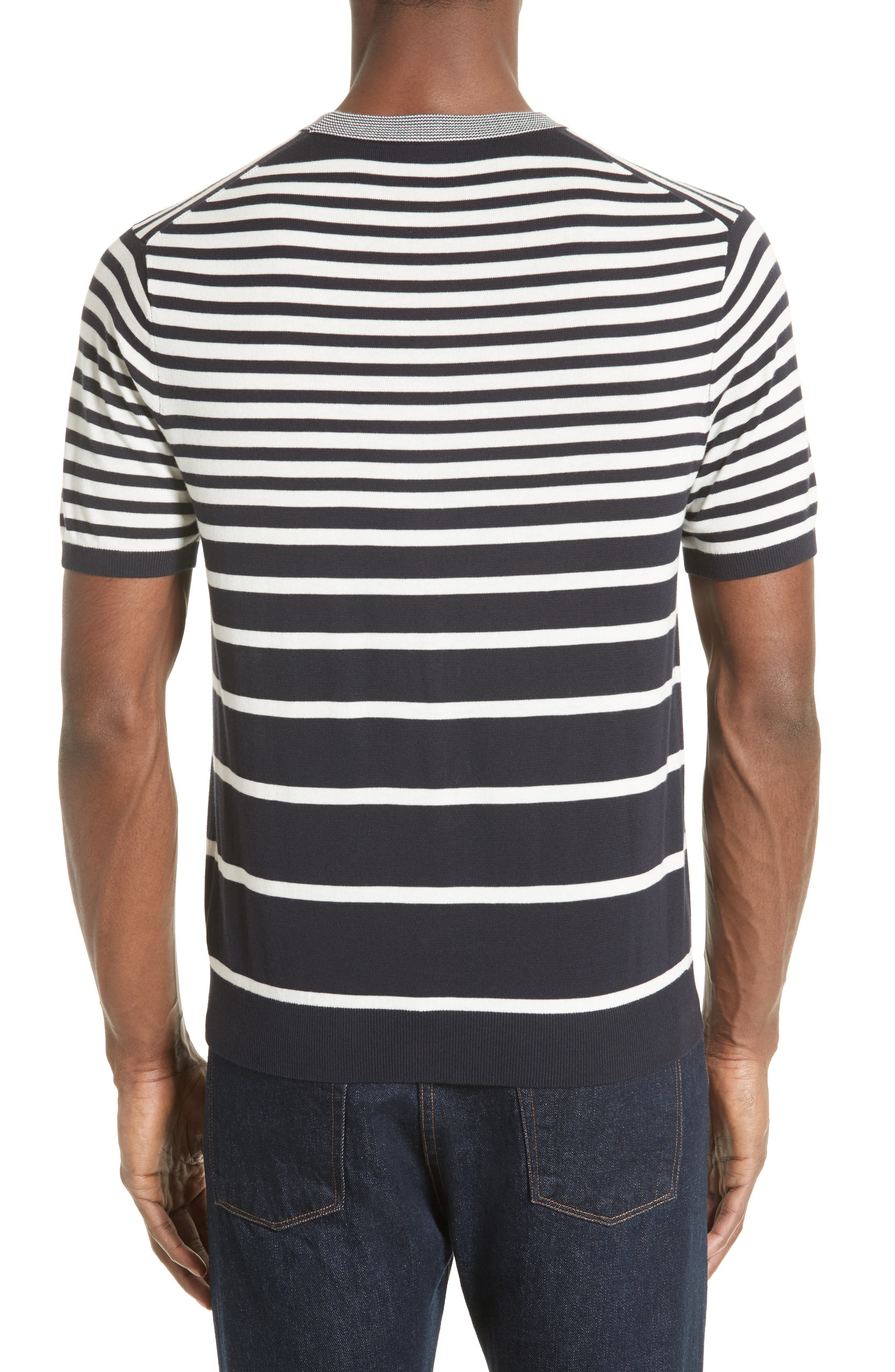 Variegated Stripe Sweater,                             Alternate thumbnail 2, color,                             410