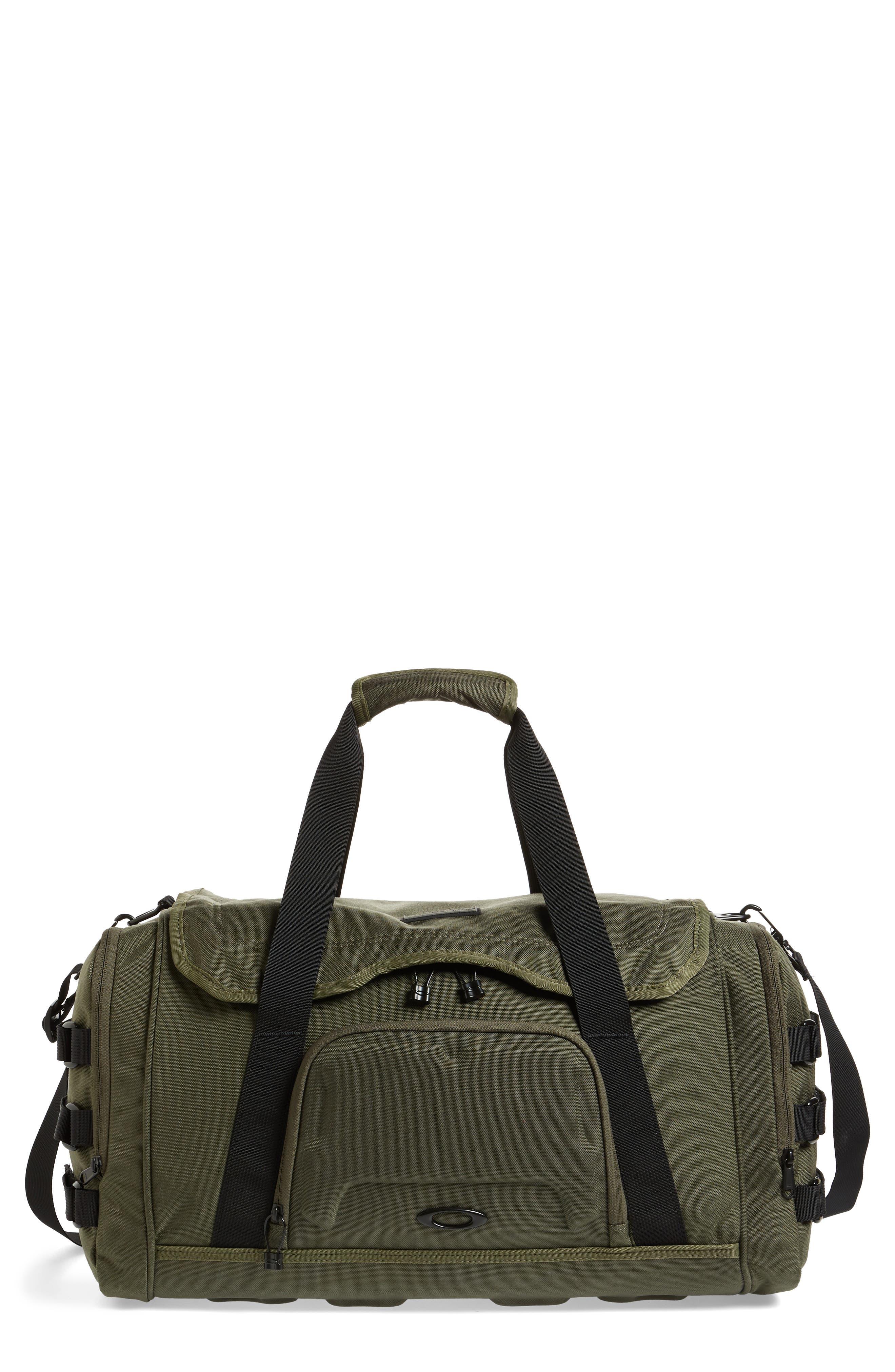 OAKLEY,                             Icon Duffel Bag,                             Main thumbnail 1, color,                             DARK BRUSH