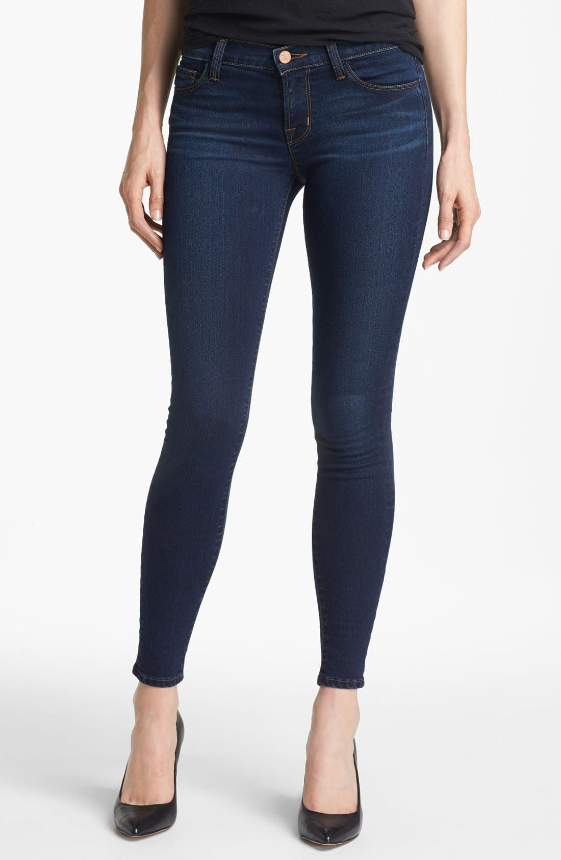 '811' Ankle Skinny Jeans,                             Main thumbnail 4, color,