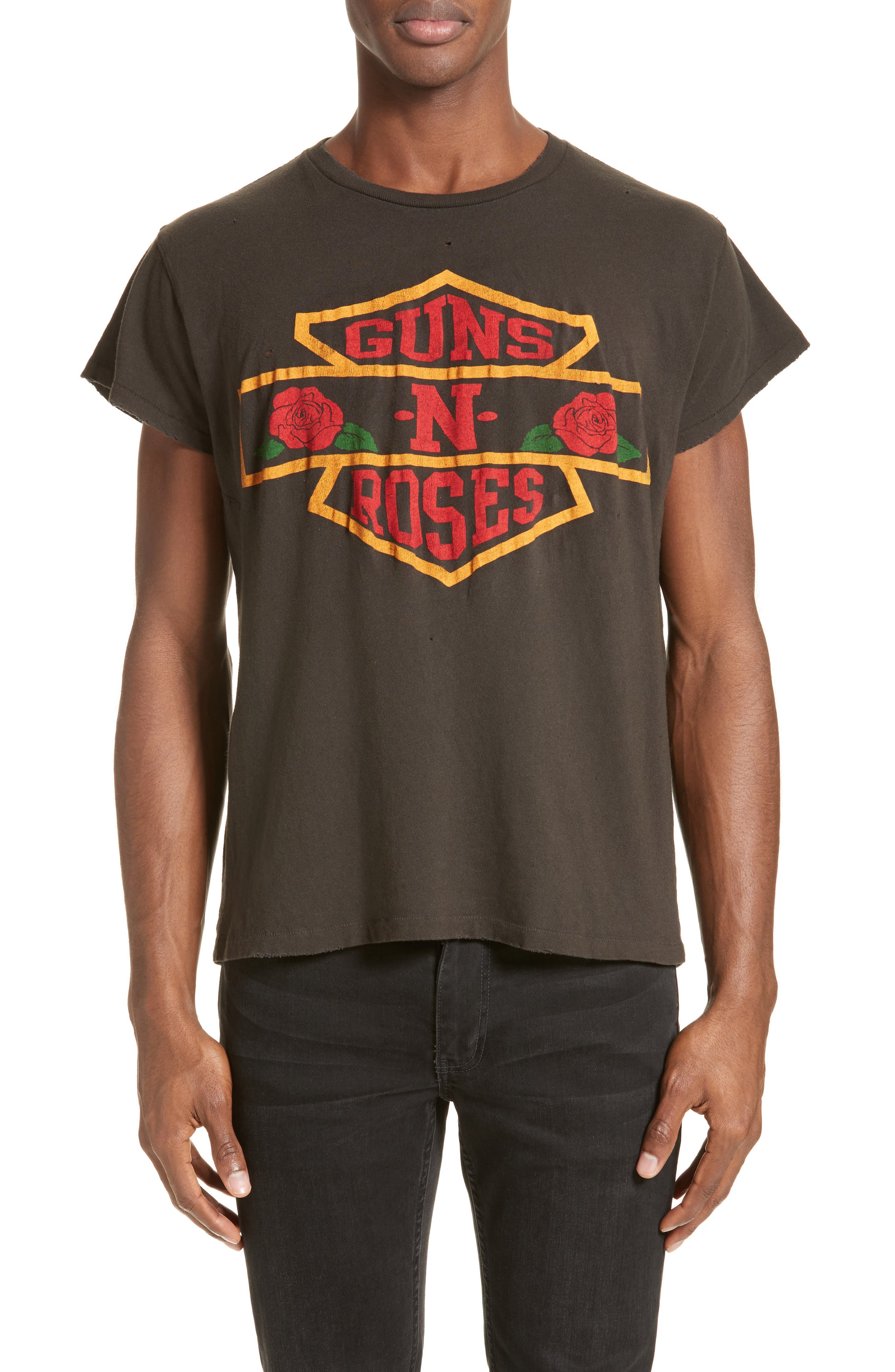 MADEWORN,                             Guns 'N' Roses Graphic T-Shirt,                             Main thumbnail 1, color,                             001
