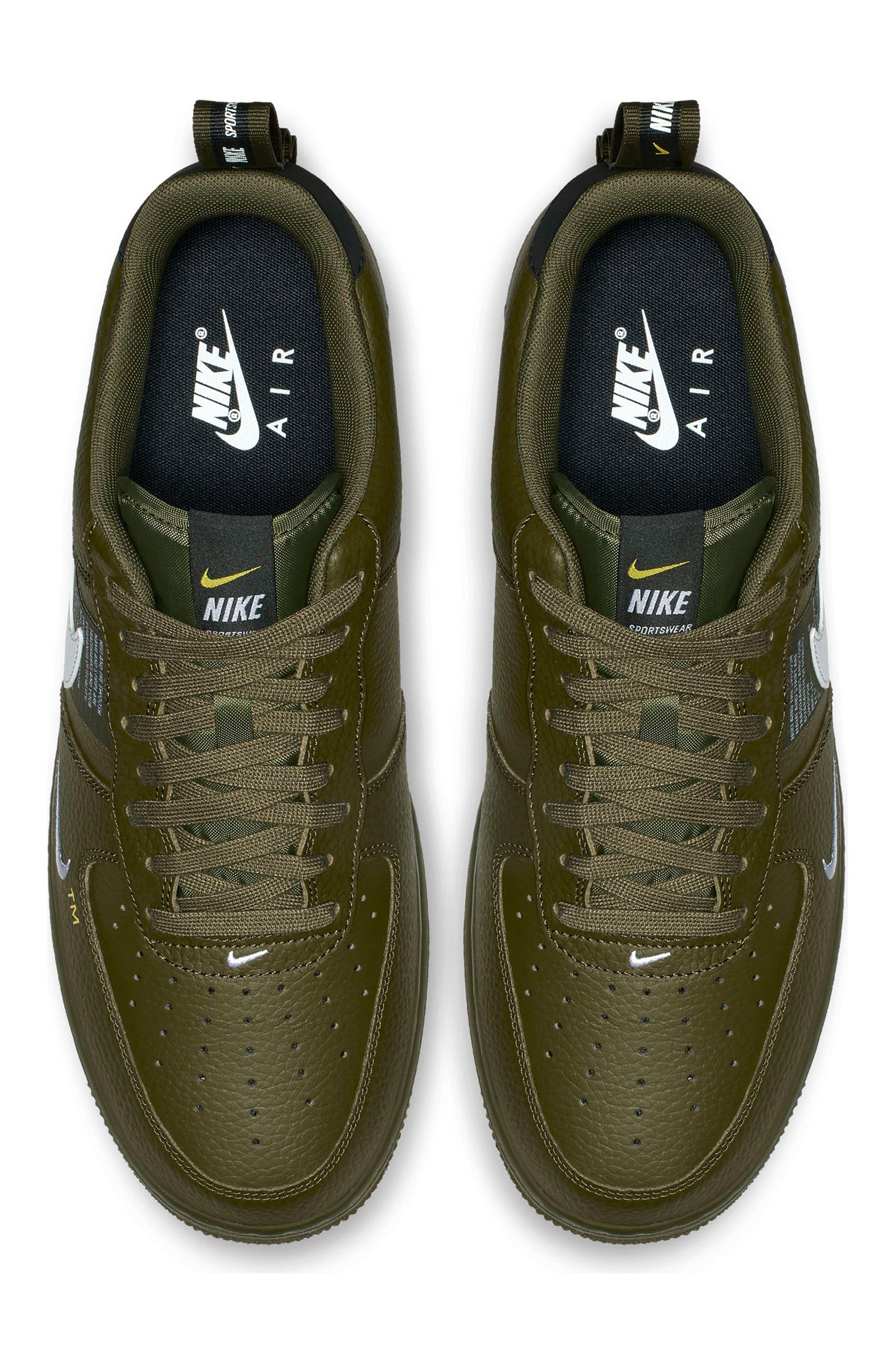 Air Force 1 '07 LV8 Utility Sneaker,                             Alternate thumbnail 4, color,                             300