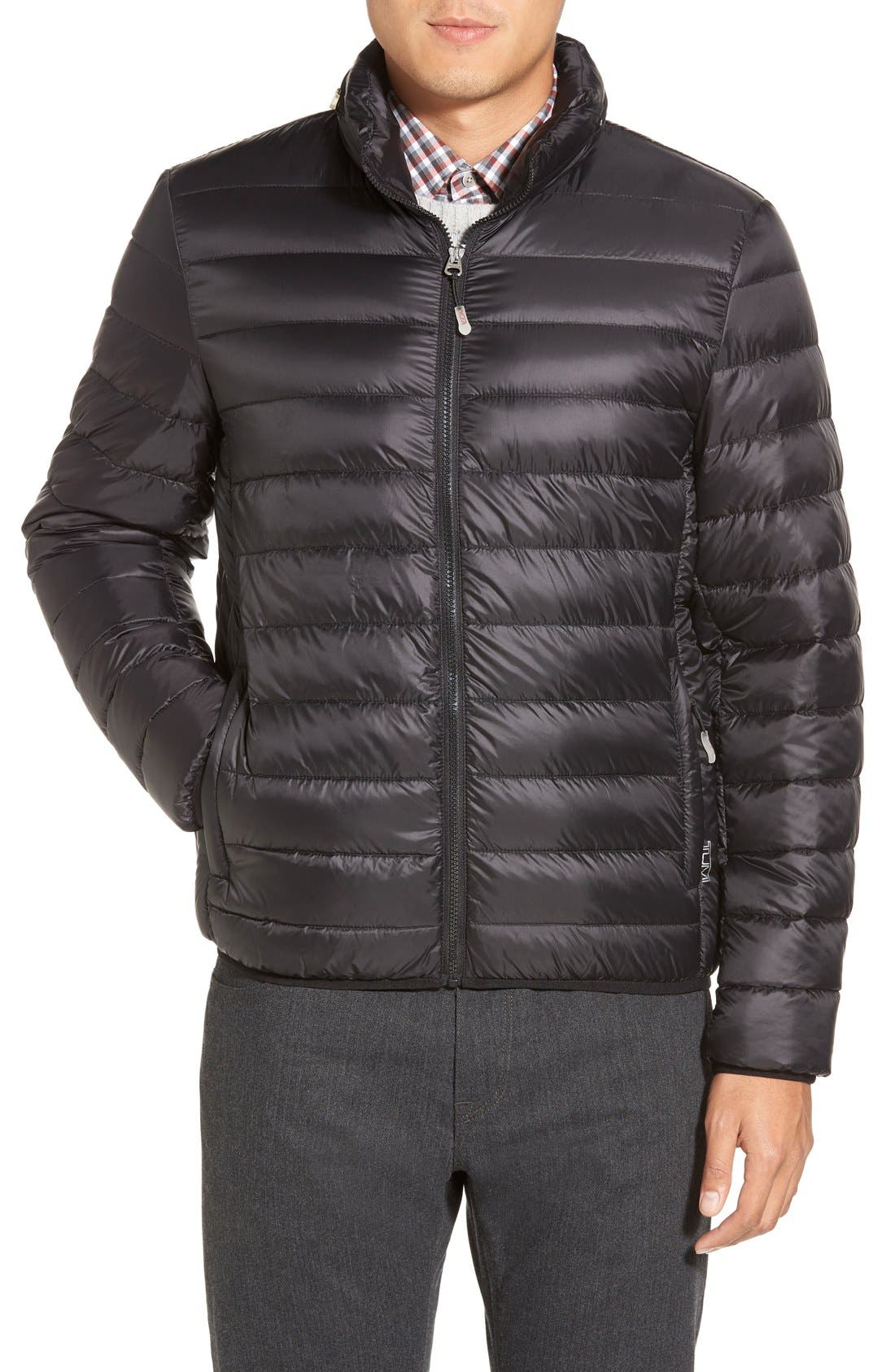 Pax PackableQuilted Jacket,                             Main thumbnail 1, color,                             001