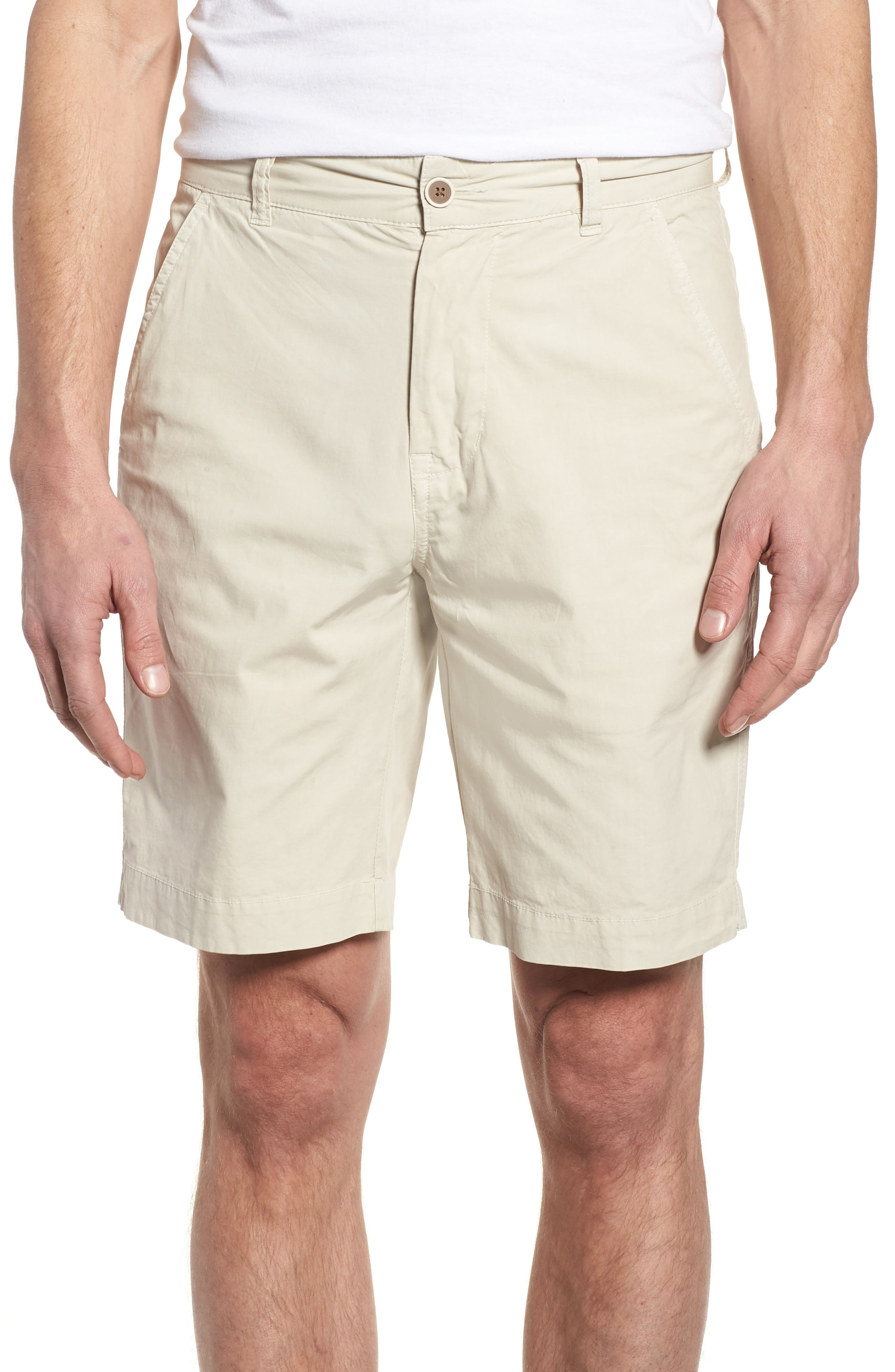 Stretch Poplin Shorts,                             Main thumbnail 1, color,                             020