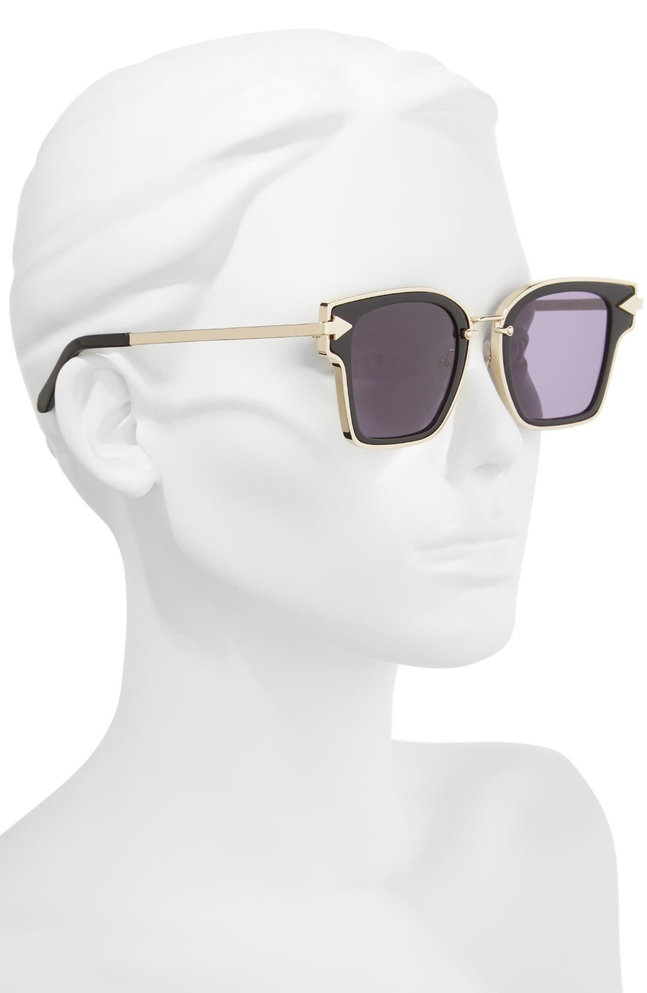 Rebellion 49mm Sunglasses,                             Alternate thumbnail 2, color,                             001