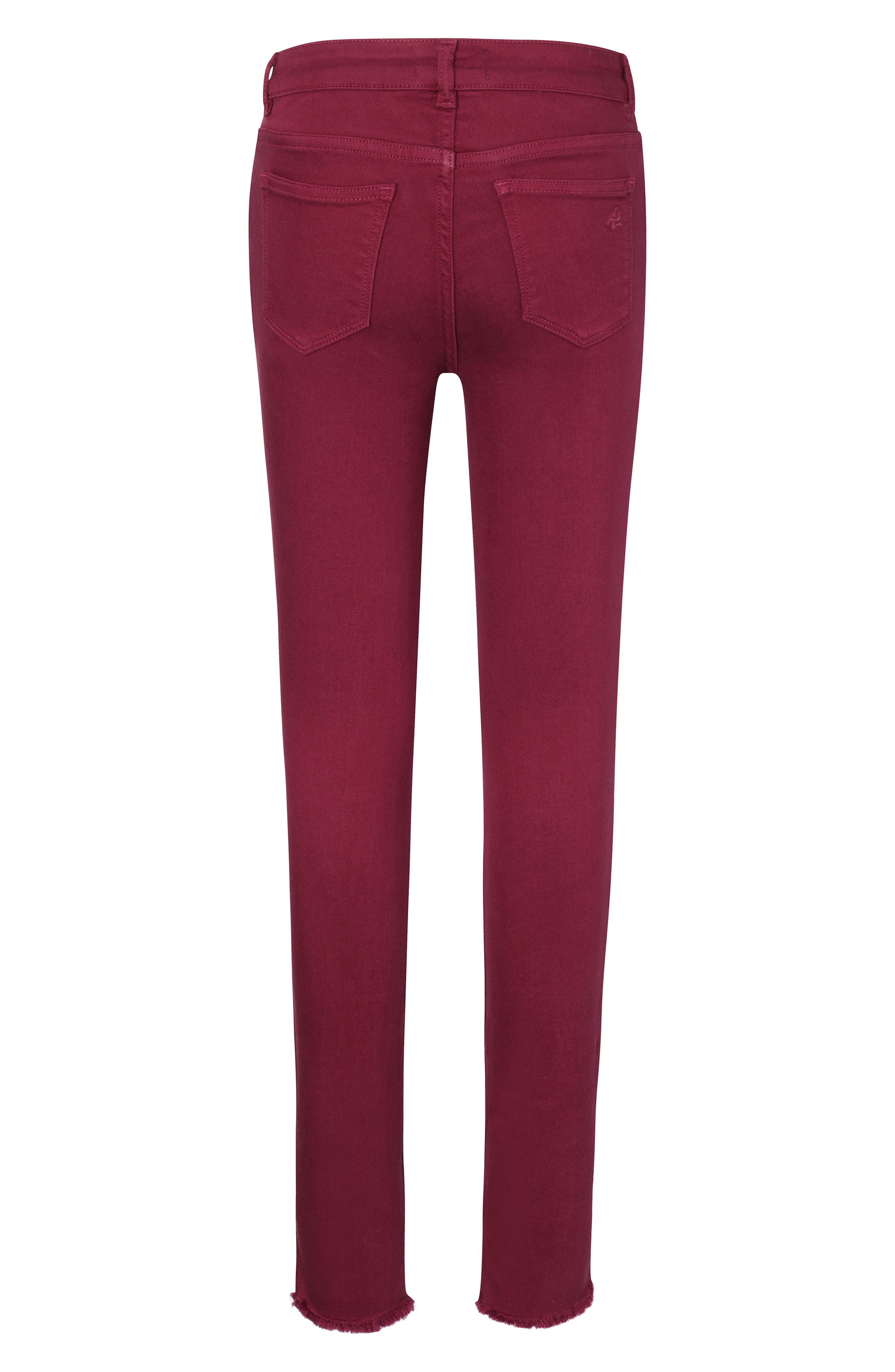 Chloe Skinny Jeans,                             Alternate thumbnail 2, color,                             VERY BERRY