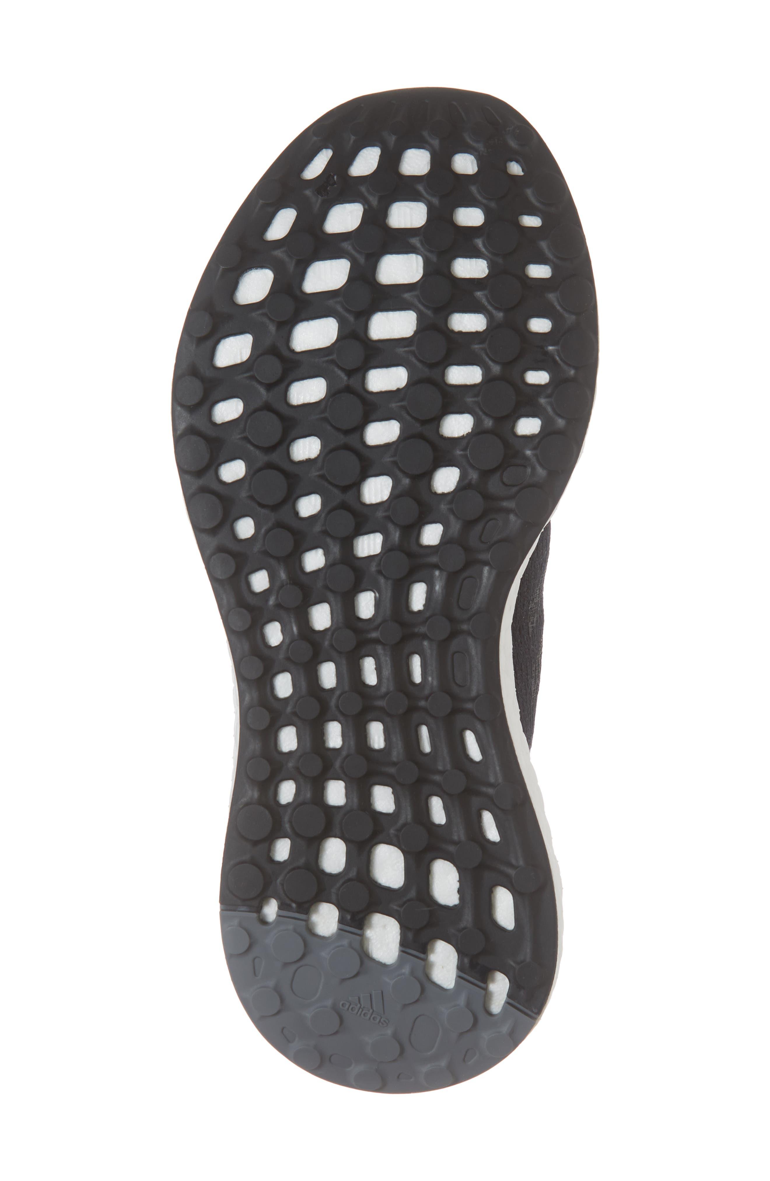 PureBoost GO Running Shoe,                             Alternate thumbnail 6, color,                             BLACK/ GREY