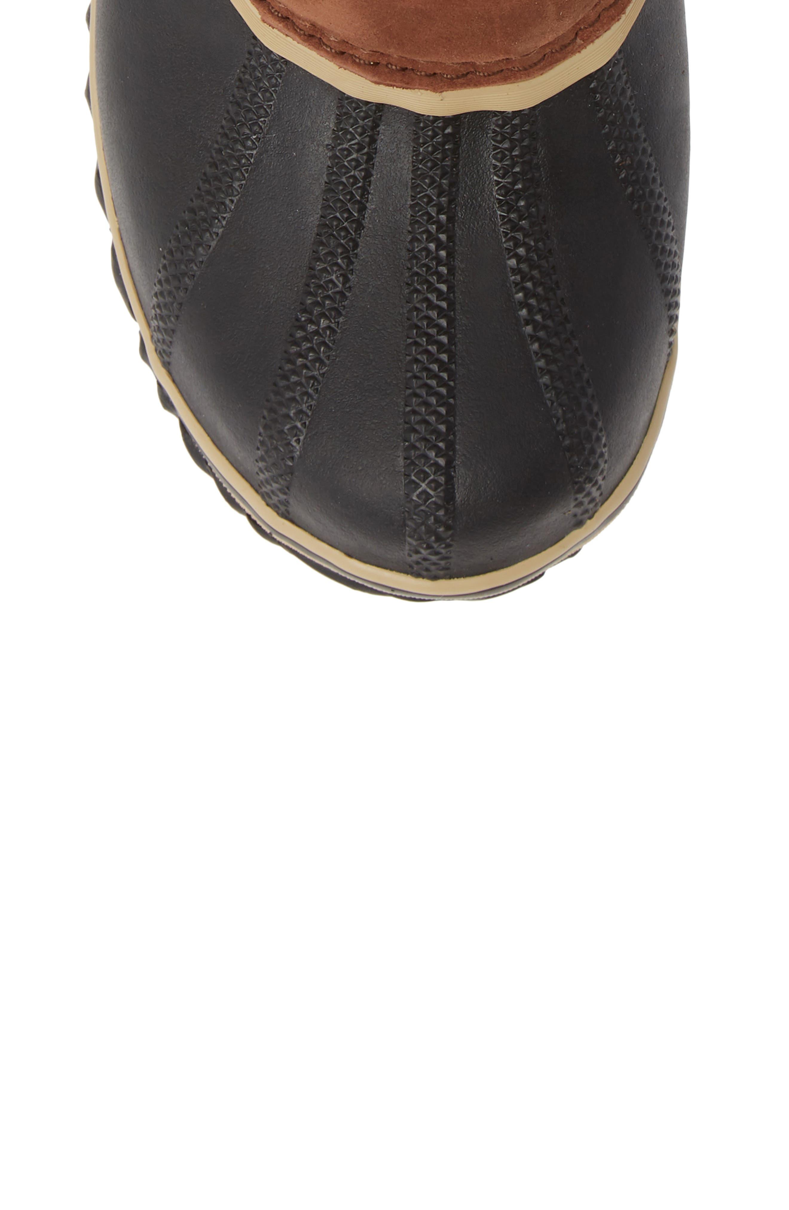 SOREL,                             Slimpack II Waterproof Boot,                             Alternate thumbnail 5, color,                             BURRO/ CATTAIL