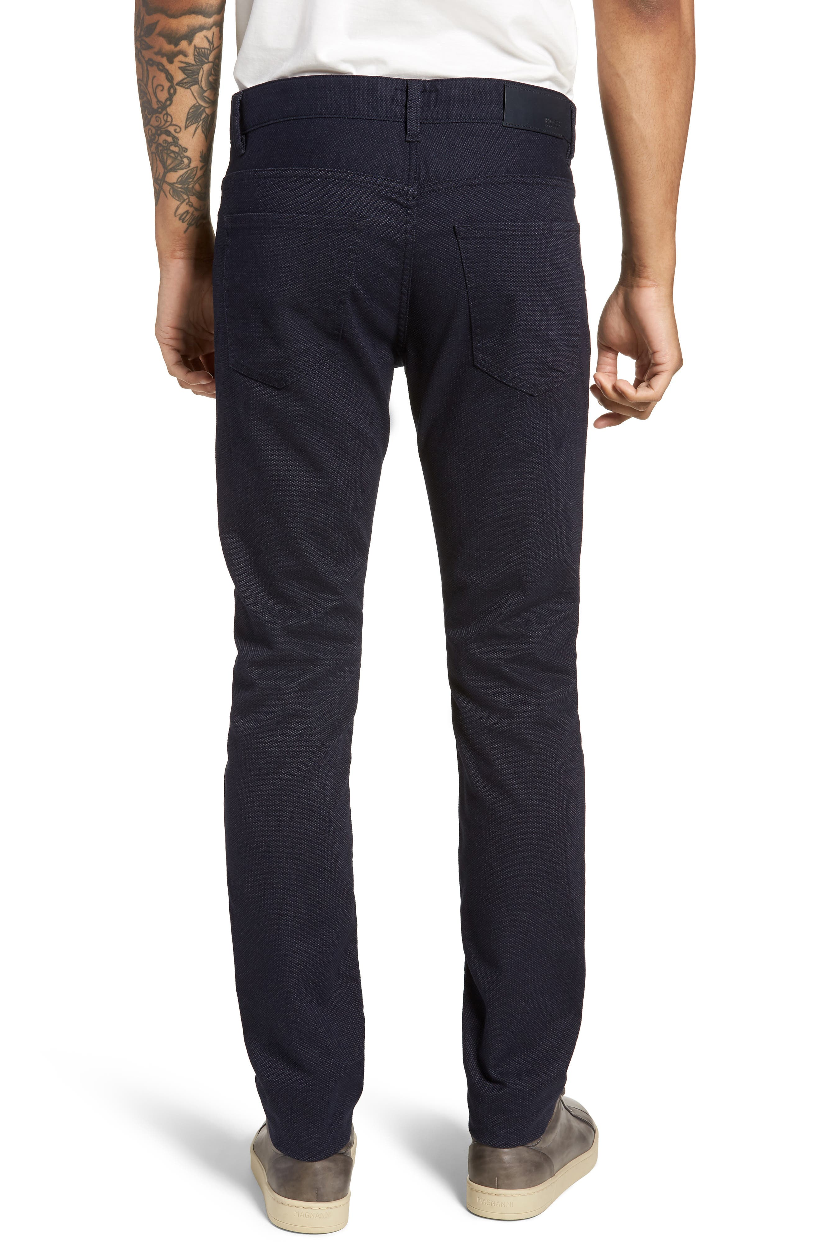 Delaware Slim Fit Jeans,                             Alternate thumbnail 2, color,                             NAVY
