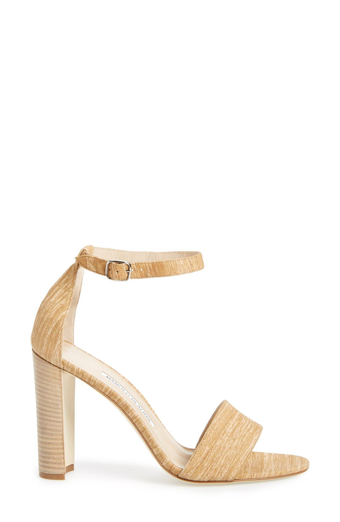 MANOLO BLAHNIK,                             'Lauratopri' Sandal,                             Alternate thumbnail 2, color,                             250