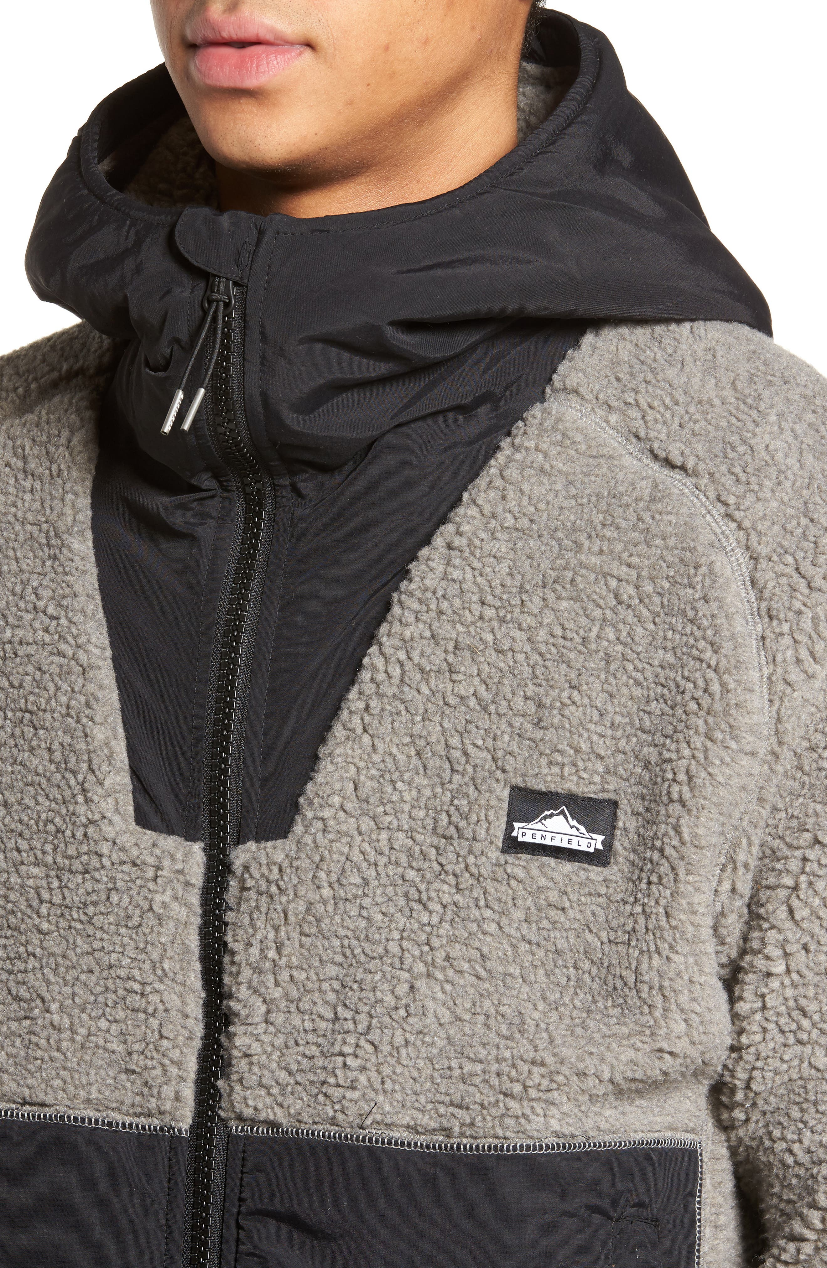 Vaughn Hooded Fleece Jacket,                             Alternate thumbnail 4, color,                             029