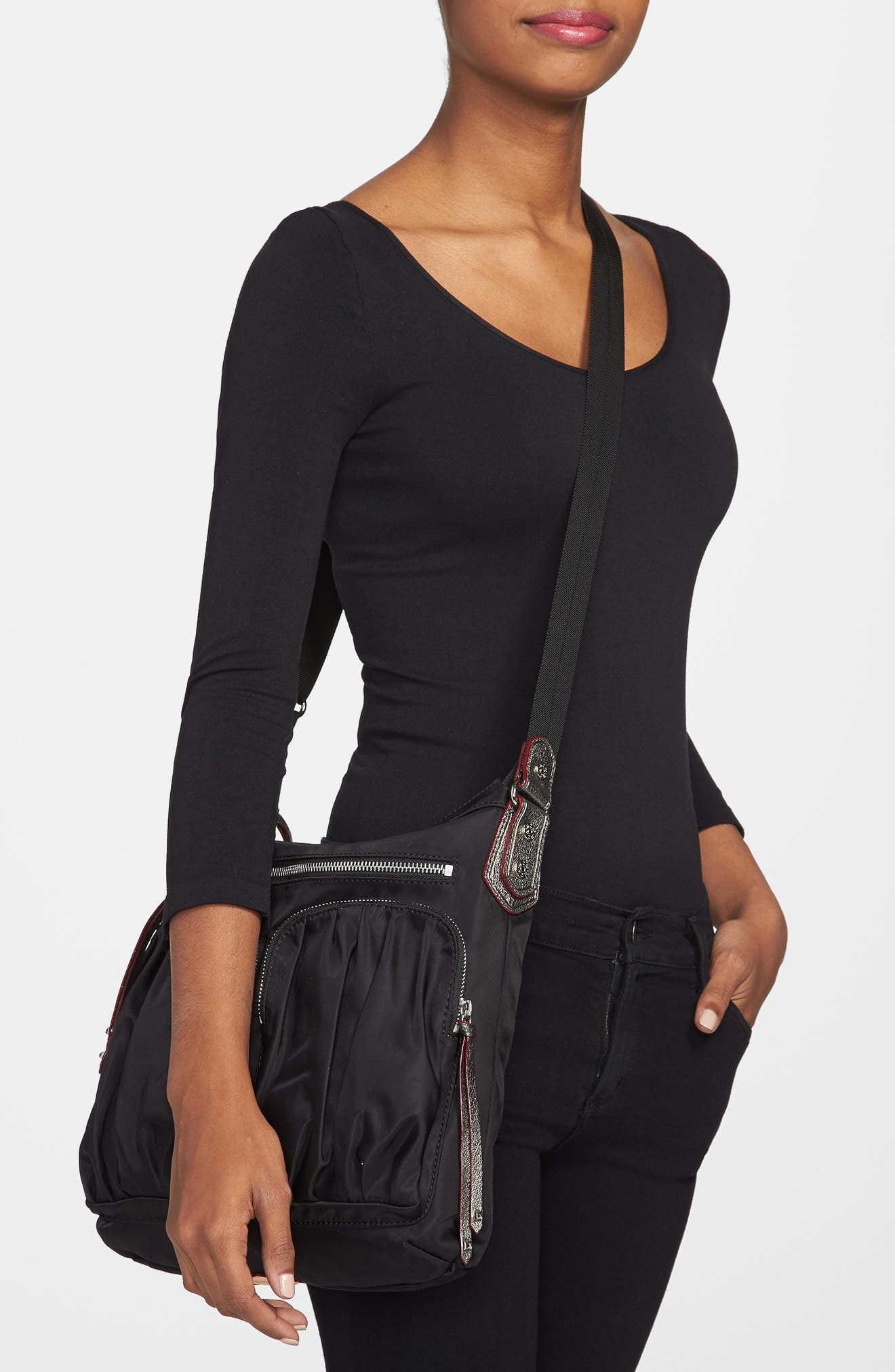 M Z Wallace Mia Crossbody Bag,                             Alternate thumbnail 8, color,
