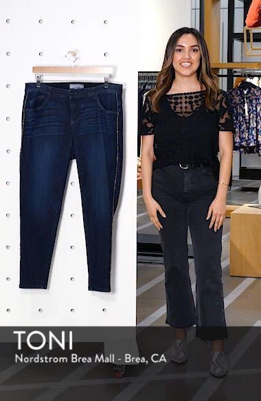 Ab-Solution Side Trim Ankle Jeans, sales video thumbnail
