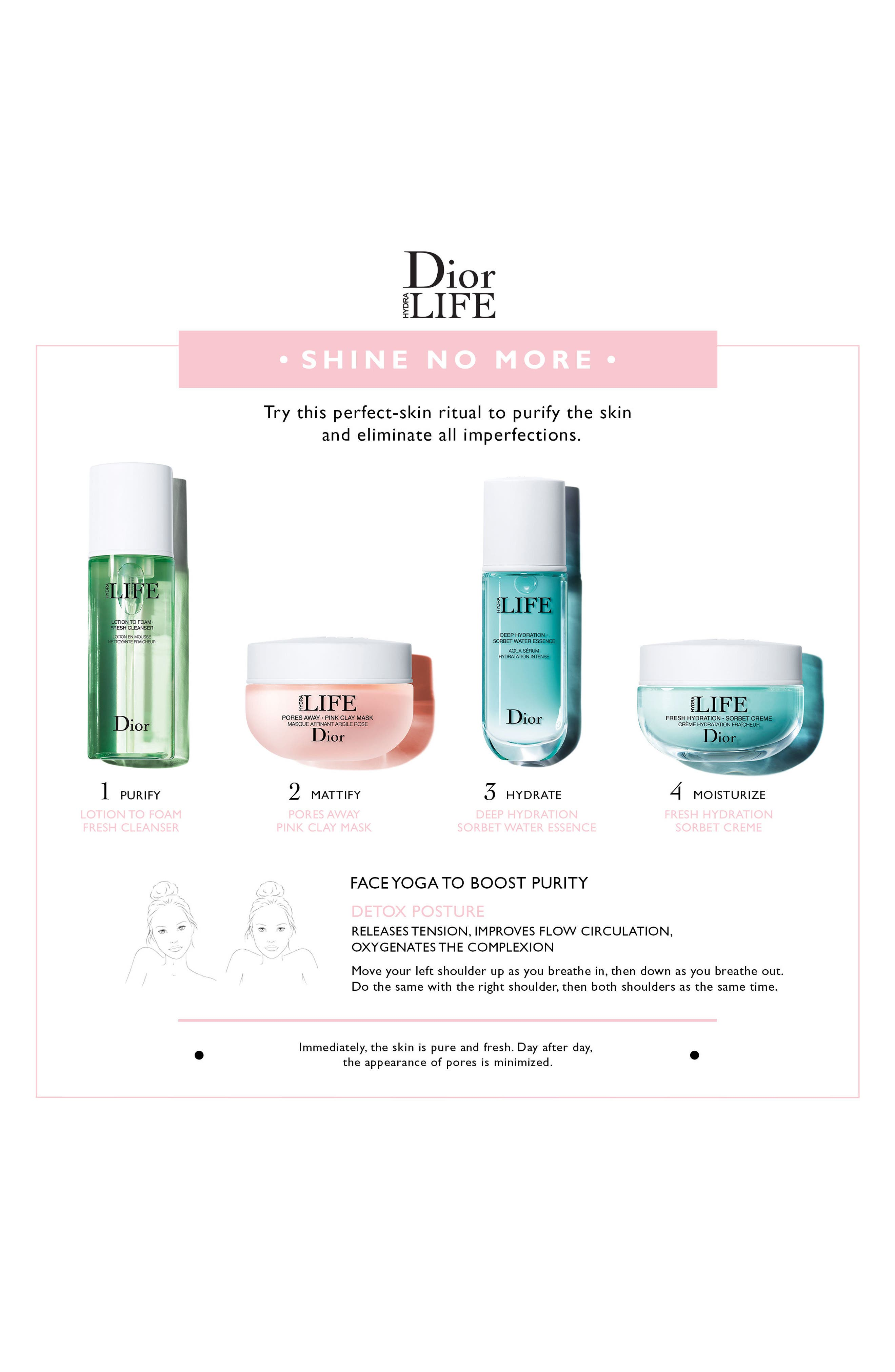 DIOR,                             Hydra Life Lotion to Foam Fresh Cleanser,                             Alternate thumbnail 2, color,                             NO COLOR