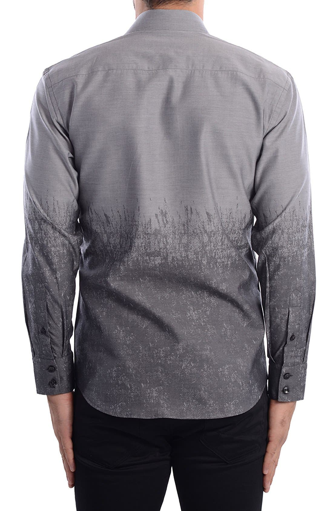 Abstract Modern Fit Sport Shirt,                             Alternate thumbnail 2, color,                             060