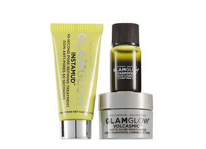 GLAMGLOW gift with purchase.