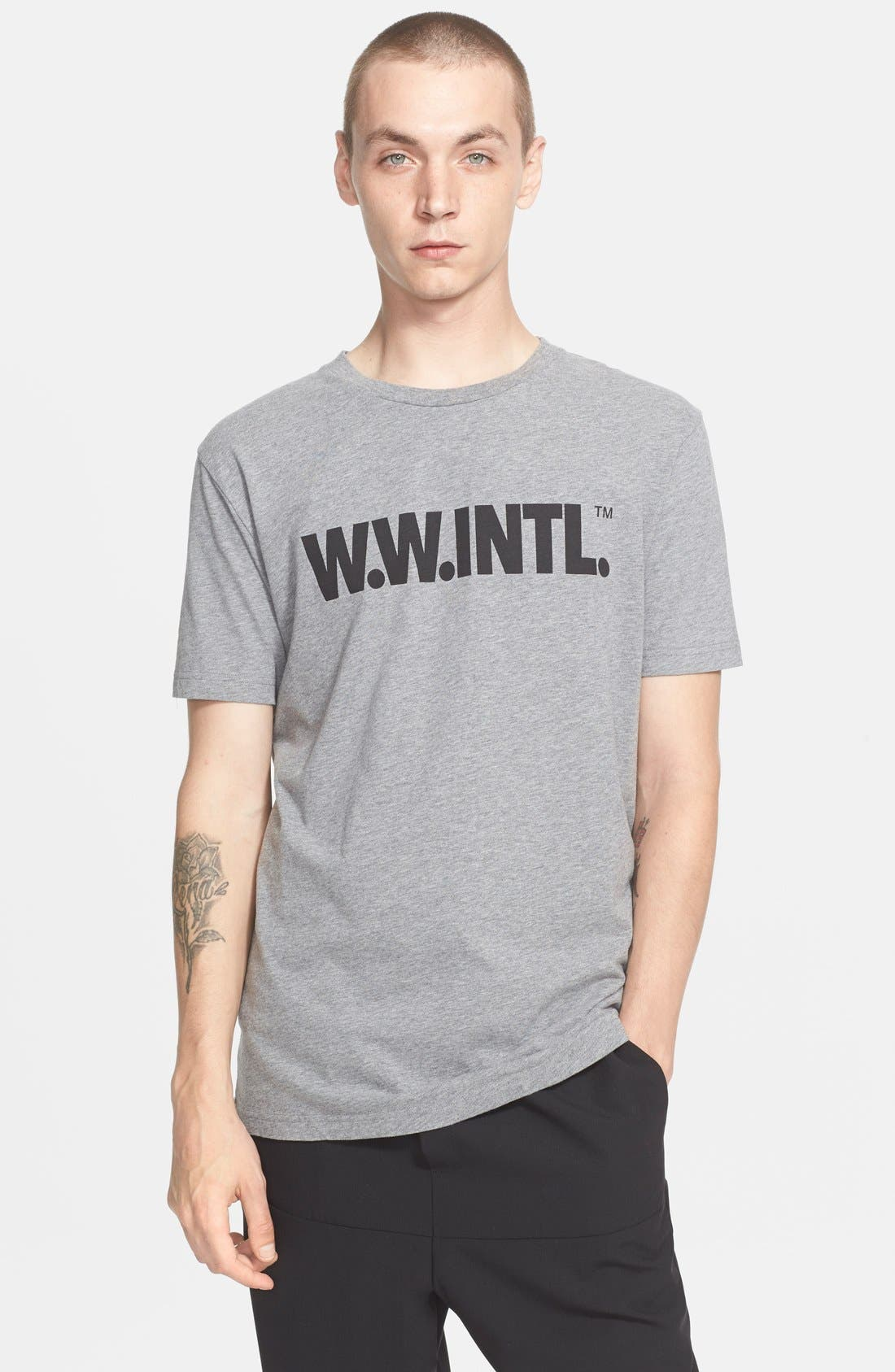 'W.W. INTL' Graphic T-Shirt,                             Main thumbnail 1, color,                             020