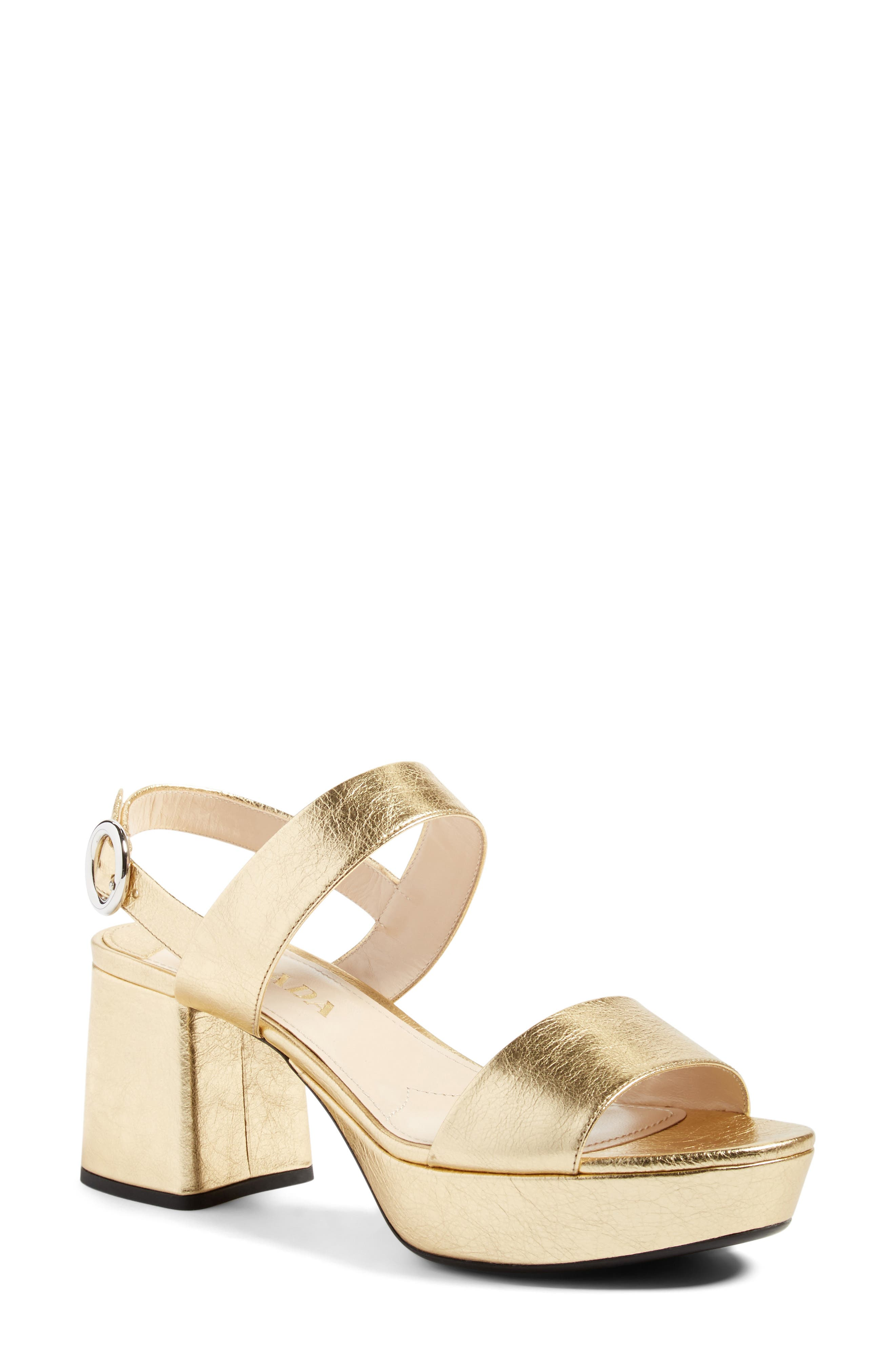 Slingback Platform Sandal,                             Alternate thumbnail 6, color,