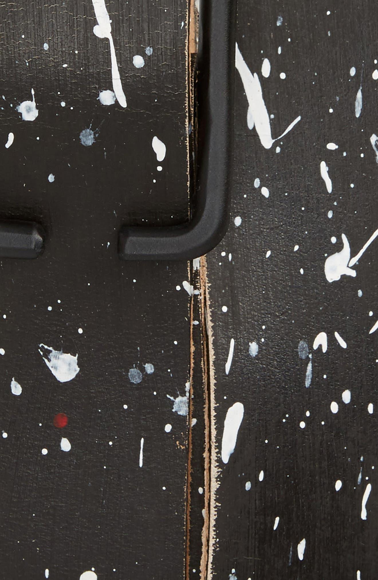 CAUSE & EFFECT,                             Paint Splatter Leather Belt,                             Alternate thumbnail 2, color,                             001