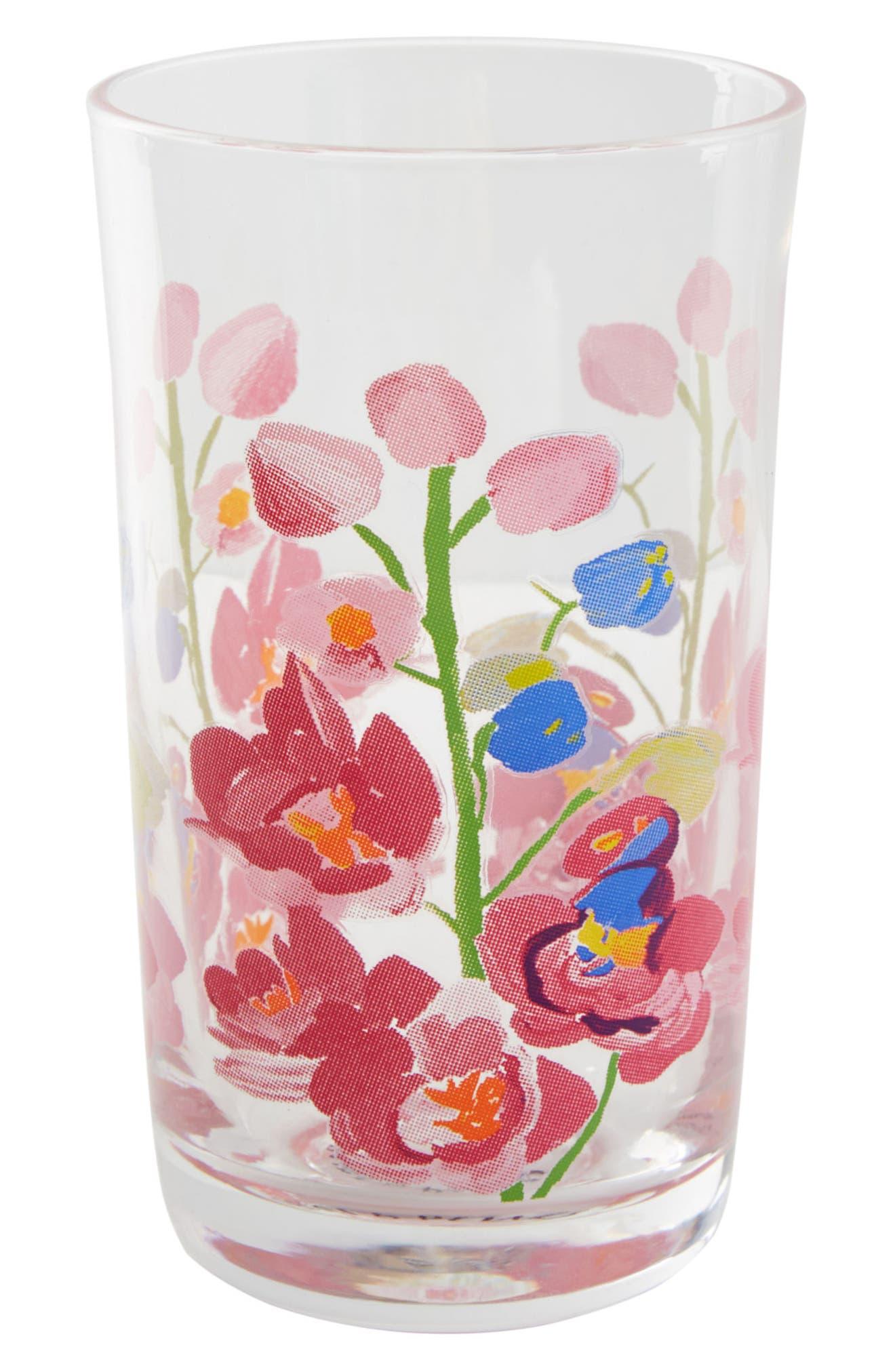 Paint + Petals Juice Glass,                             Alternate thumbnail 3, color,                             465