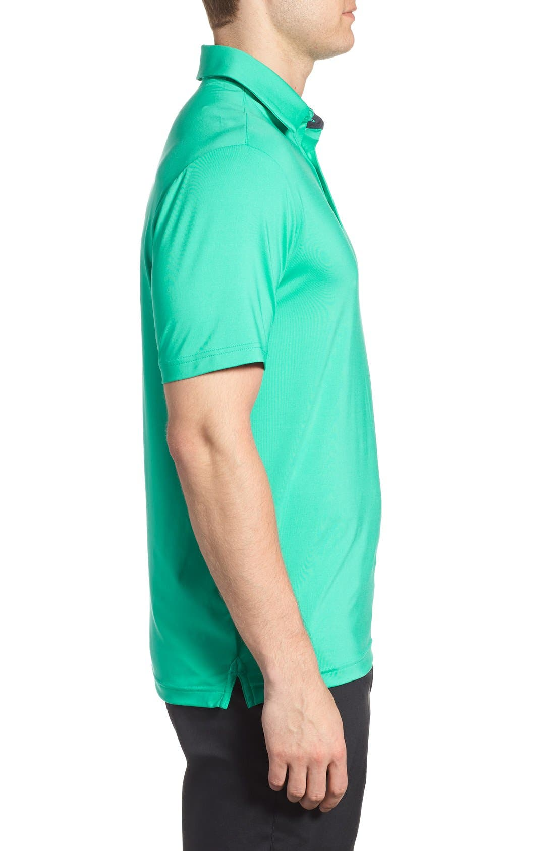 'Playoff' Loose Fit Short Sleeve Polo,                             Alternate thumbnail 252, color,