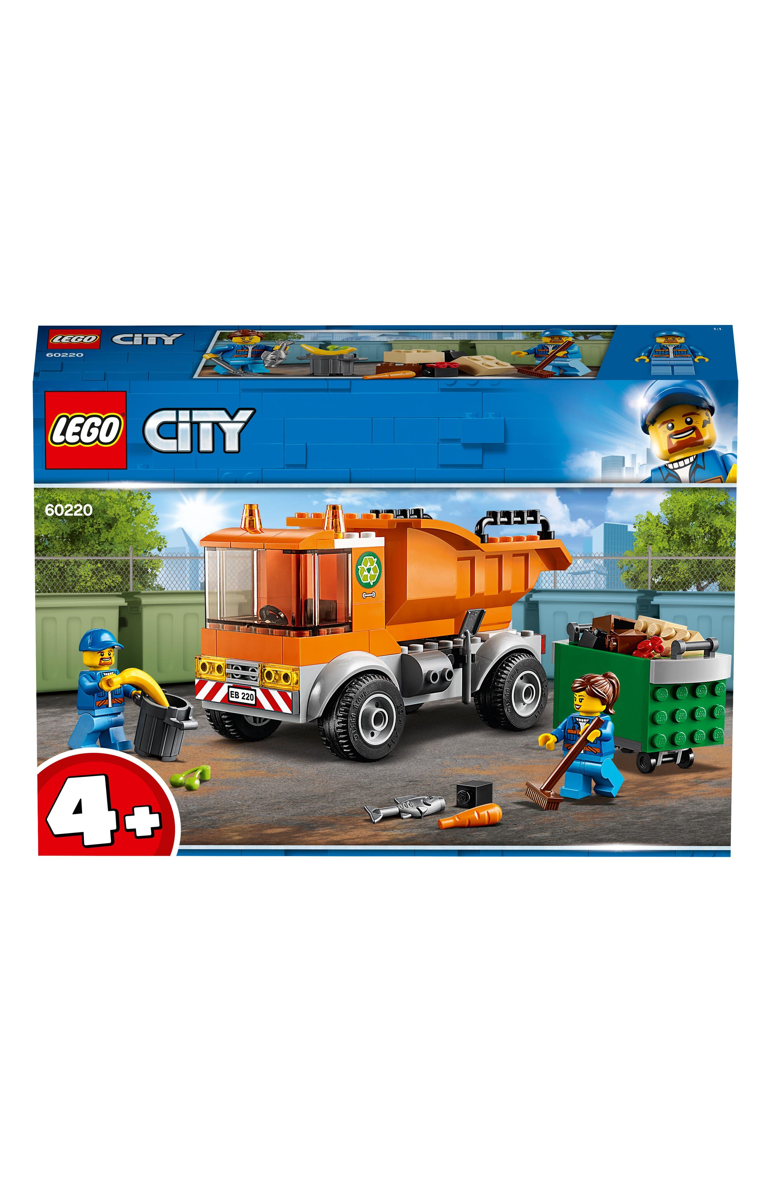 4+ City Garbage Truck - 60220,                             Alternate thumbnail 2, color,                             MULTI