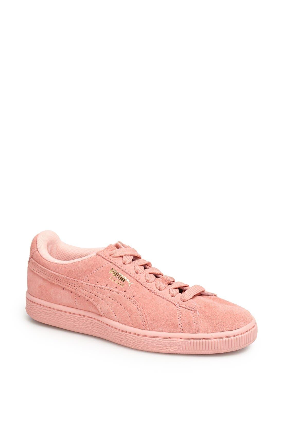 Suede Sneaker,                             Main thumbnail 25, color,
