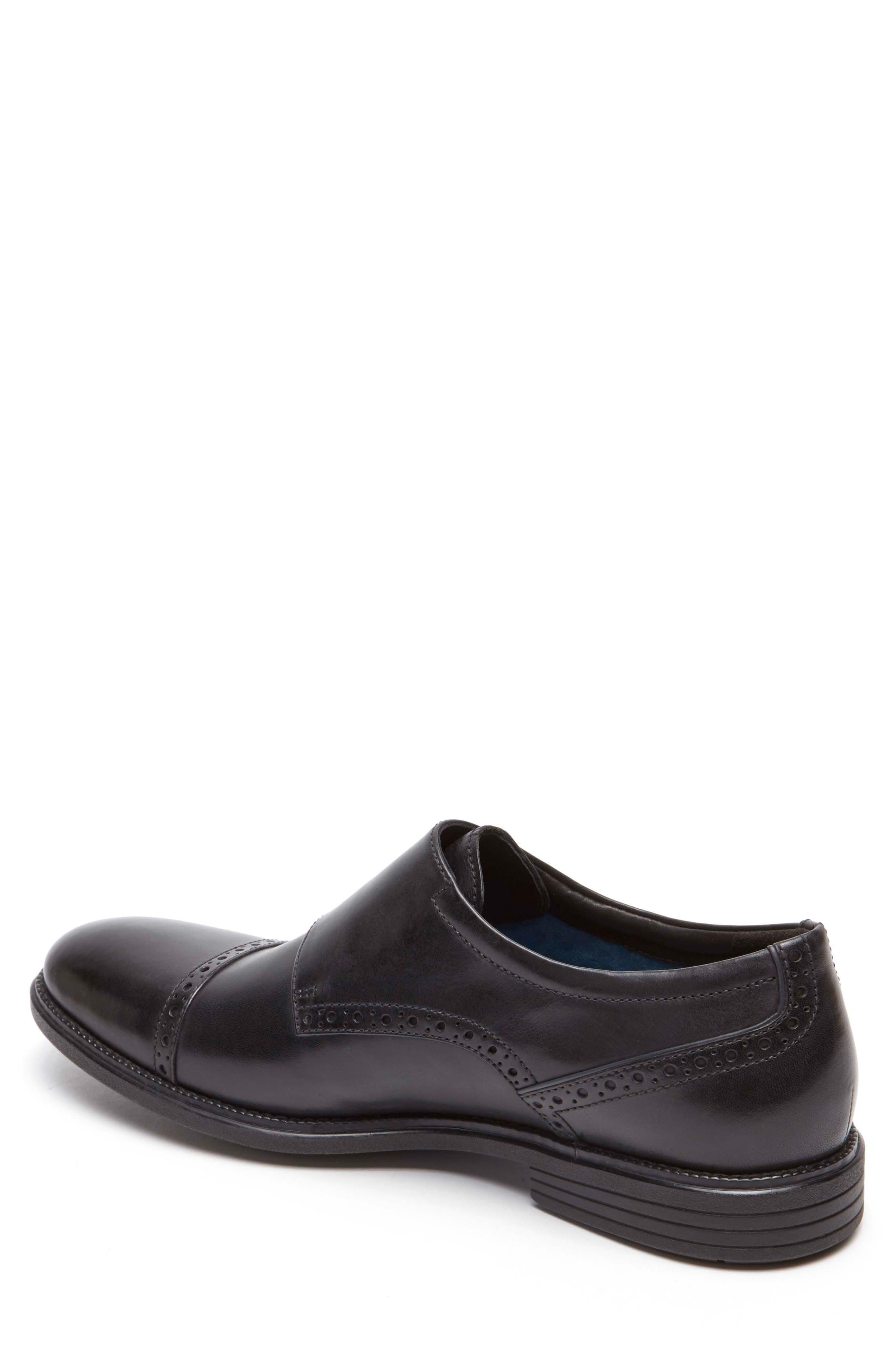 Madson Double Monk Strap Shoe,                             Alternate thumbnail 2, color,                             001