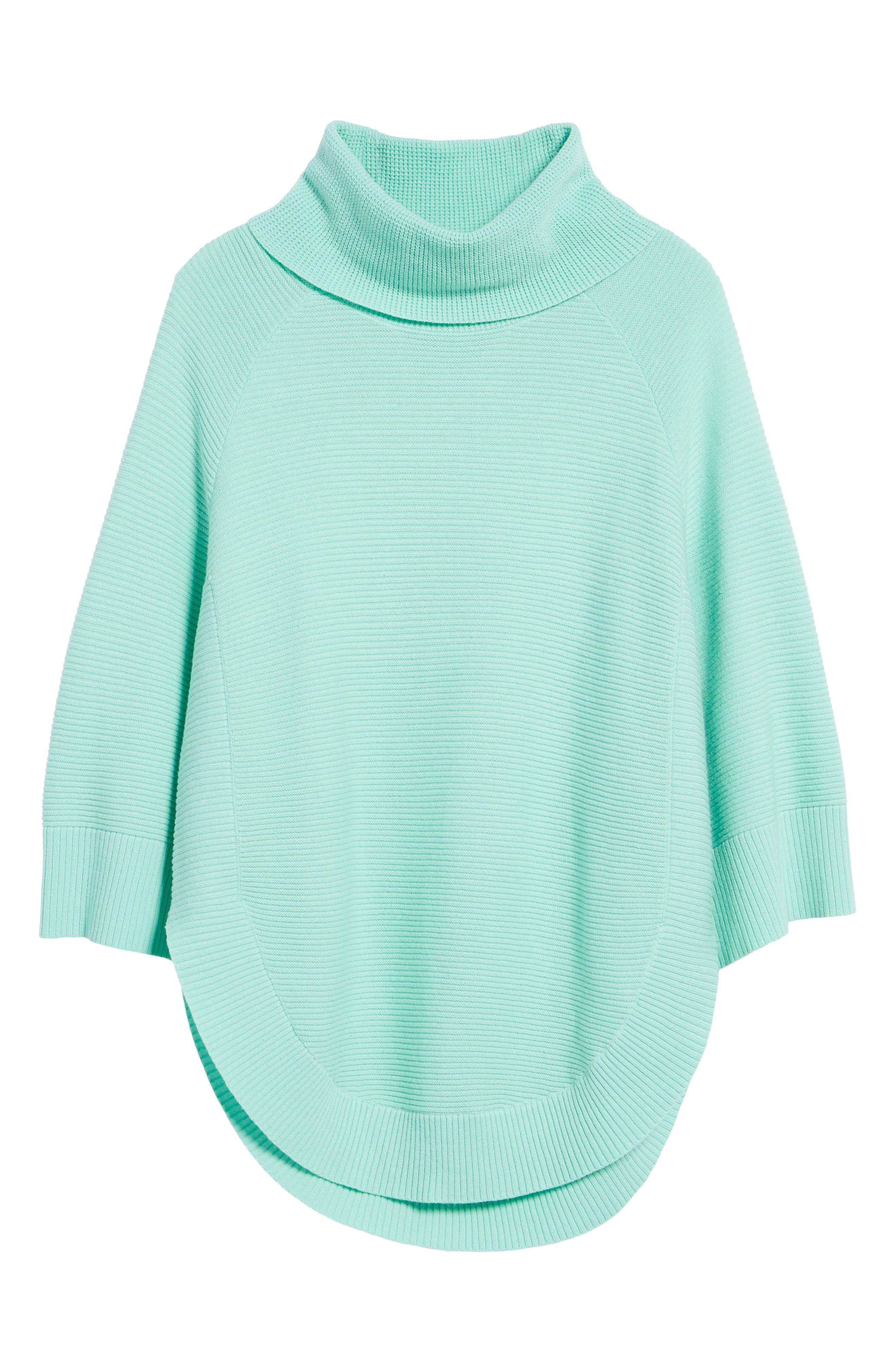 Cowl Neck Shirttail Hem Sweater,                             Alternate thumbnail 6, color,                             336