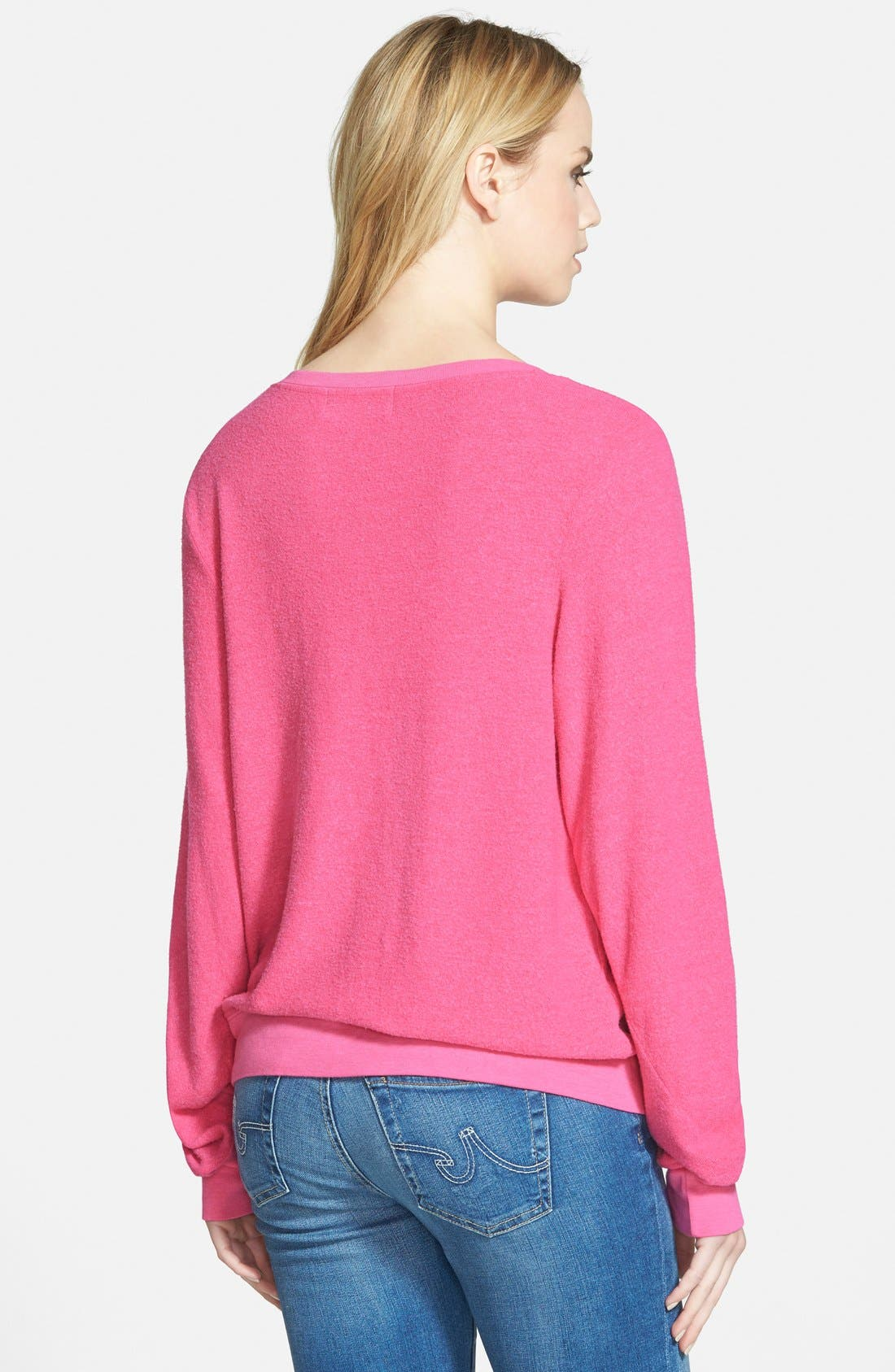 'Baggy Beach Jumper' Pullover,                             Alternate thumbnail 124, color,