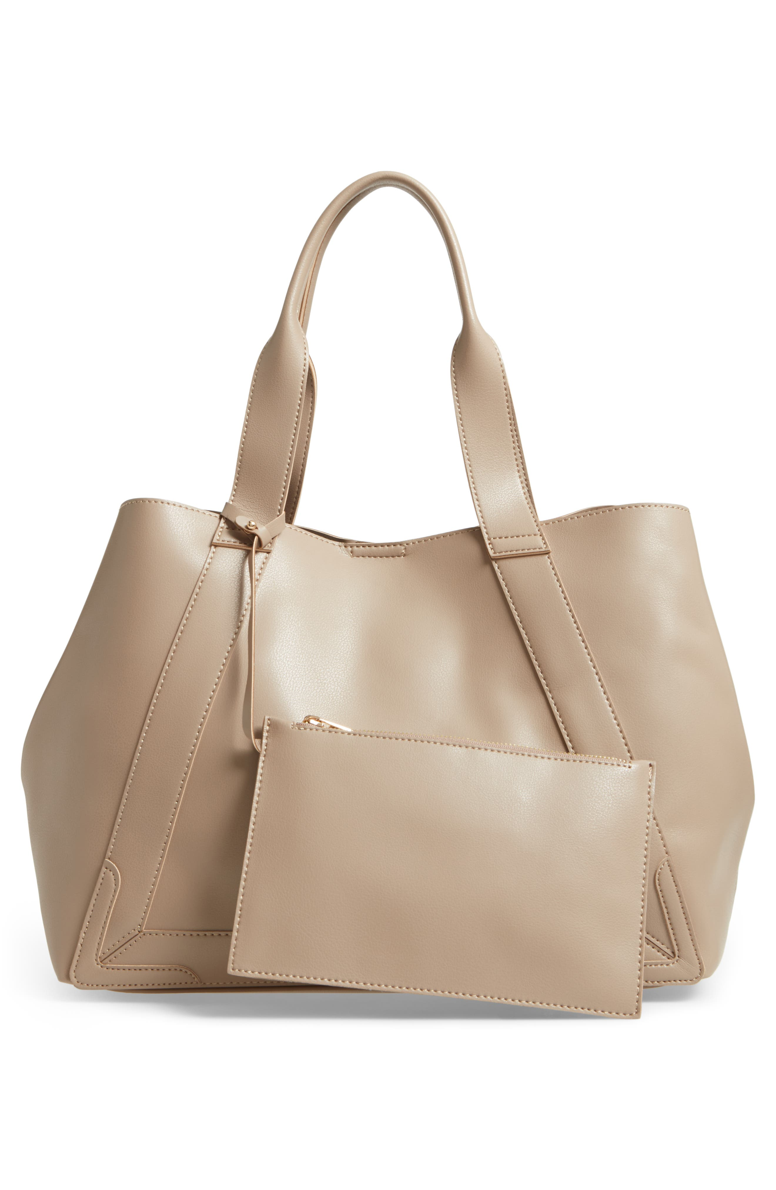 Decklan Faux Leather Tote,                             Alternate thumbnail 3, color,                             250