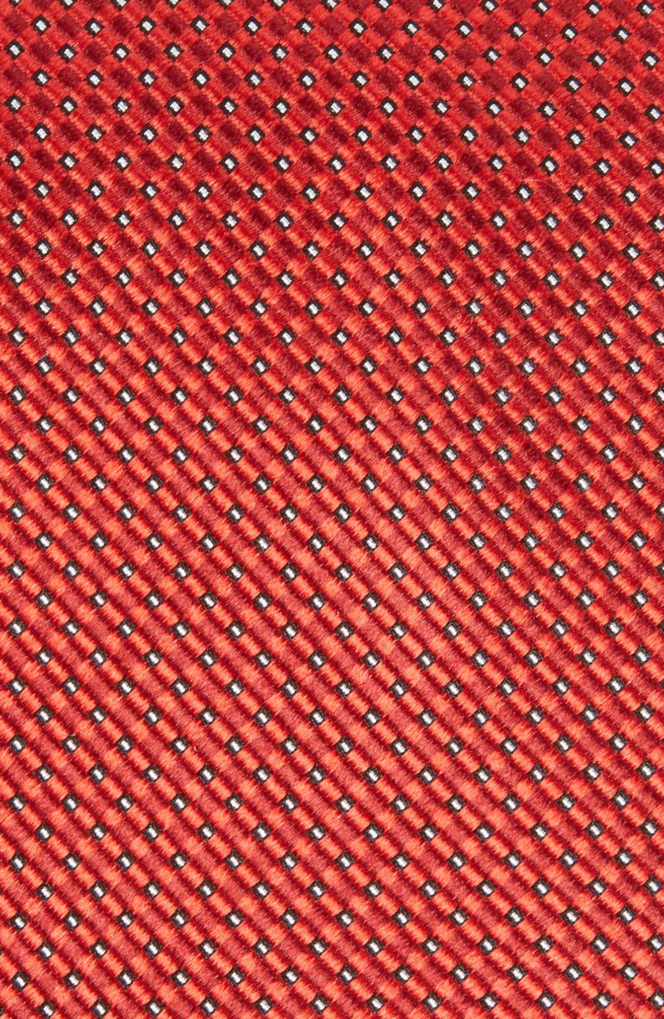 Microgrid Silk Tie,                             Alternate thumbnail 13, color,