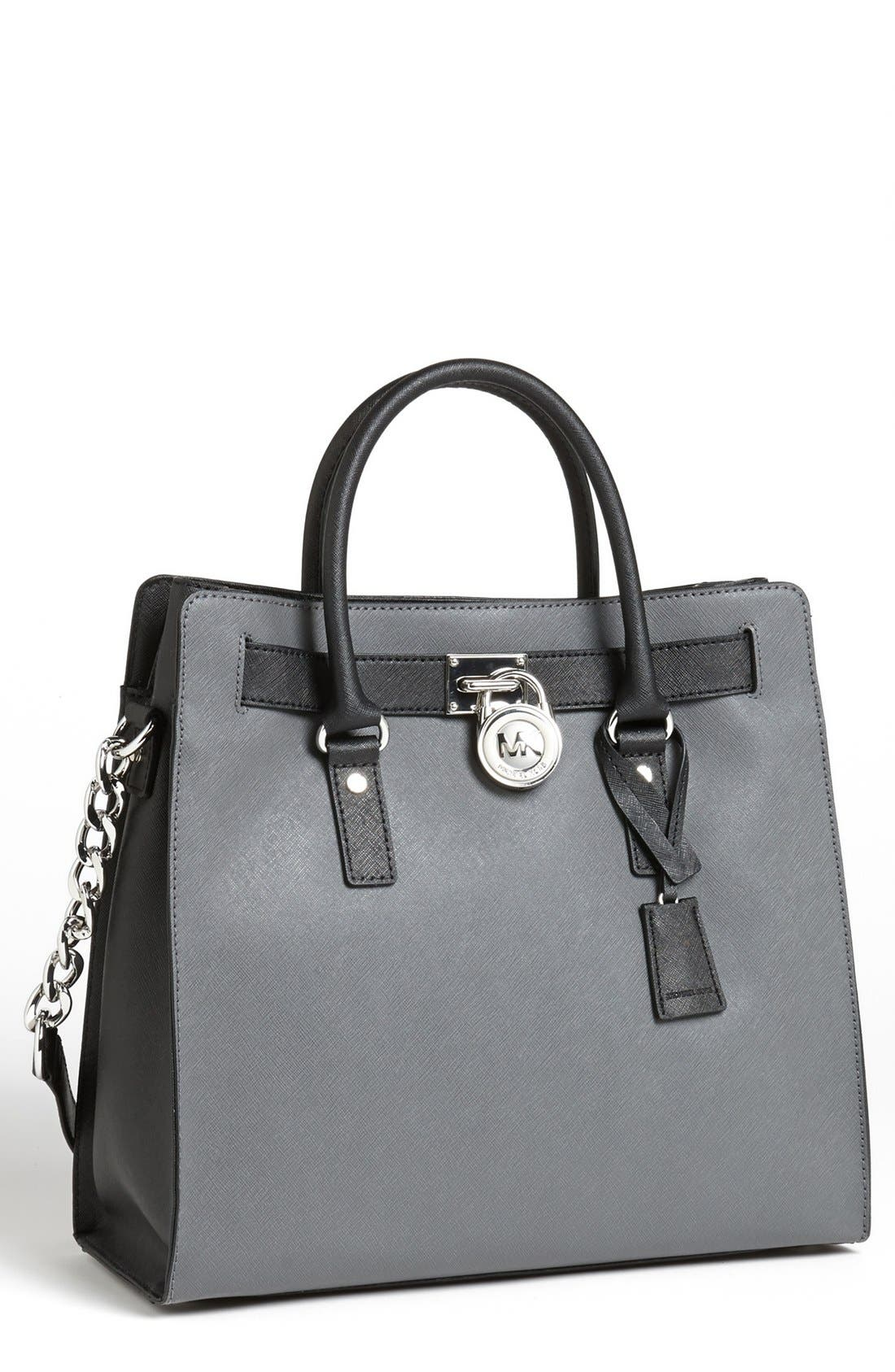 'Hamilton - Large' Saffiano Leather Tote, Main, color, 031