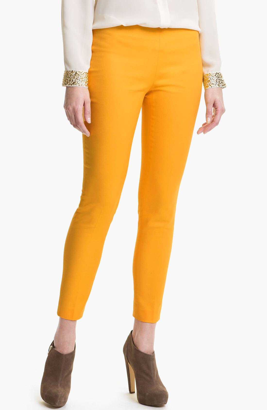 Side Zip Double Weave Pants,                             Main thumbnail 14, color,