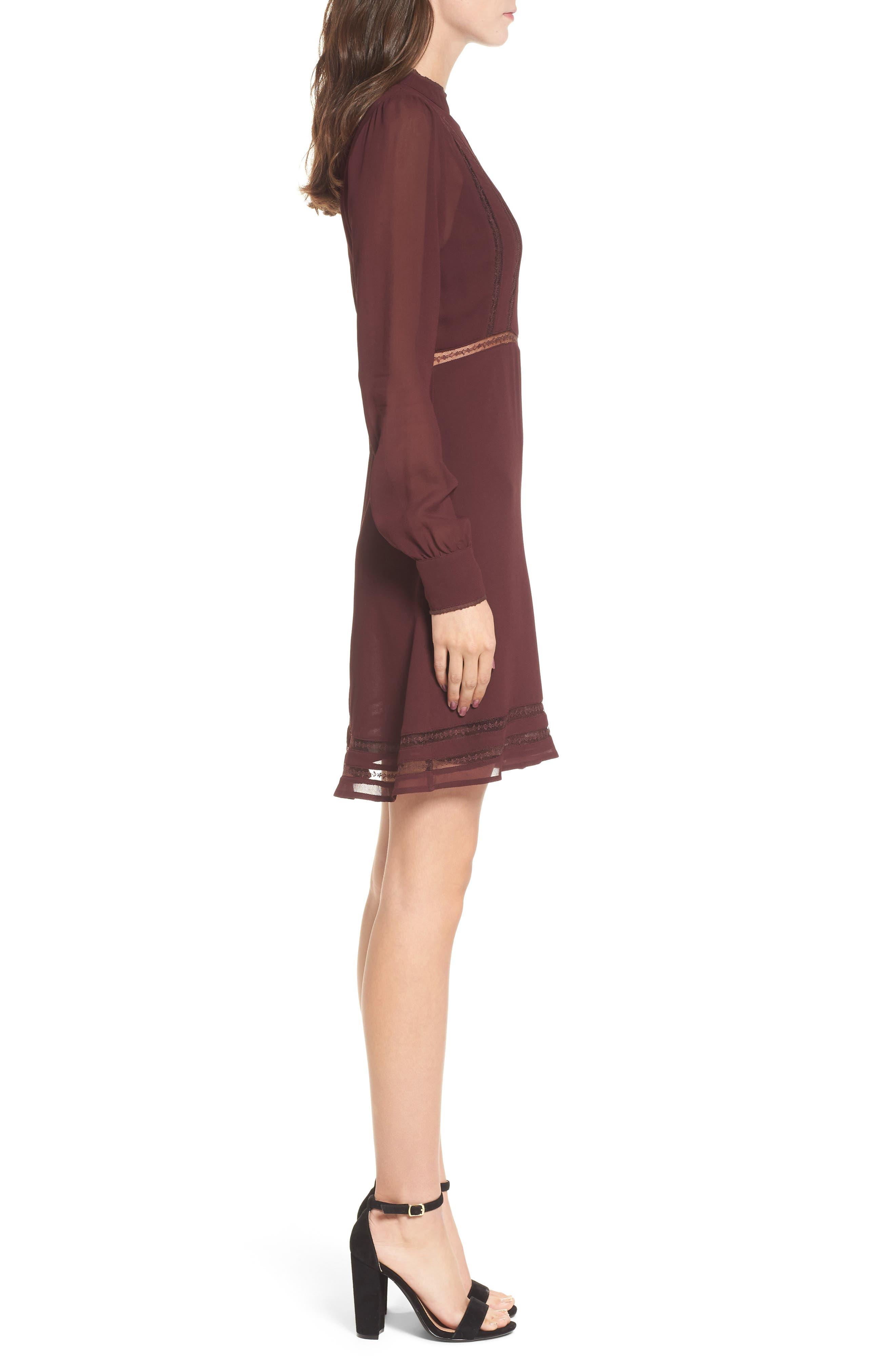 Kirsten A-Line Dress,                             Alternate thumbnail 12, color,