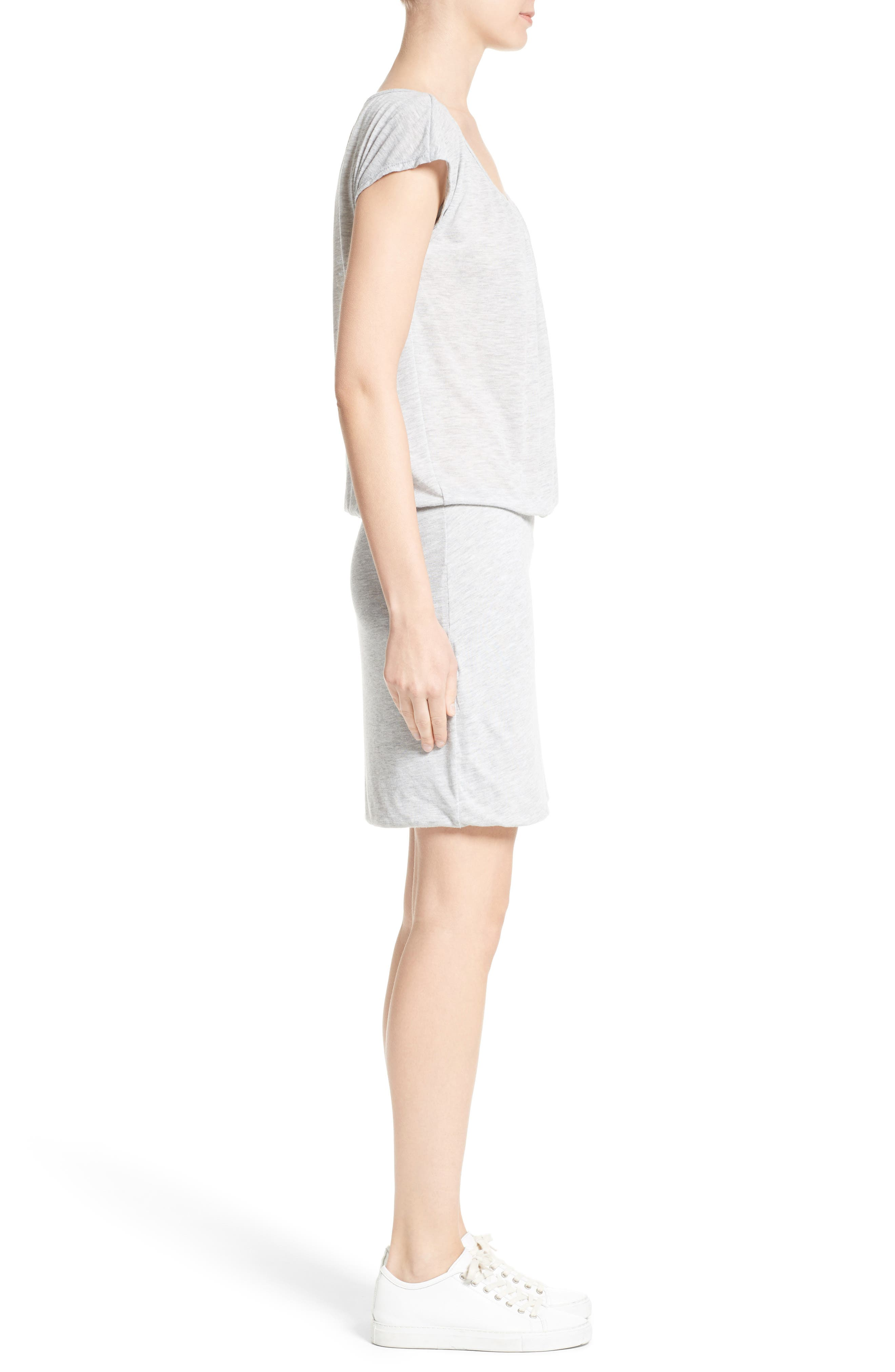 Adrijana Jersey Dress,                             Alternate thumbnail 3, color,                             099