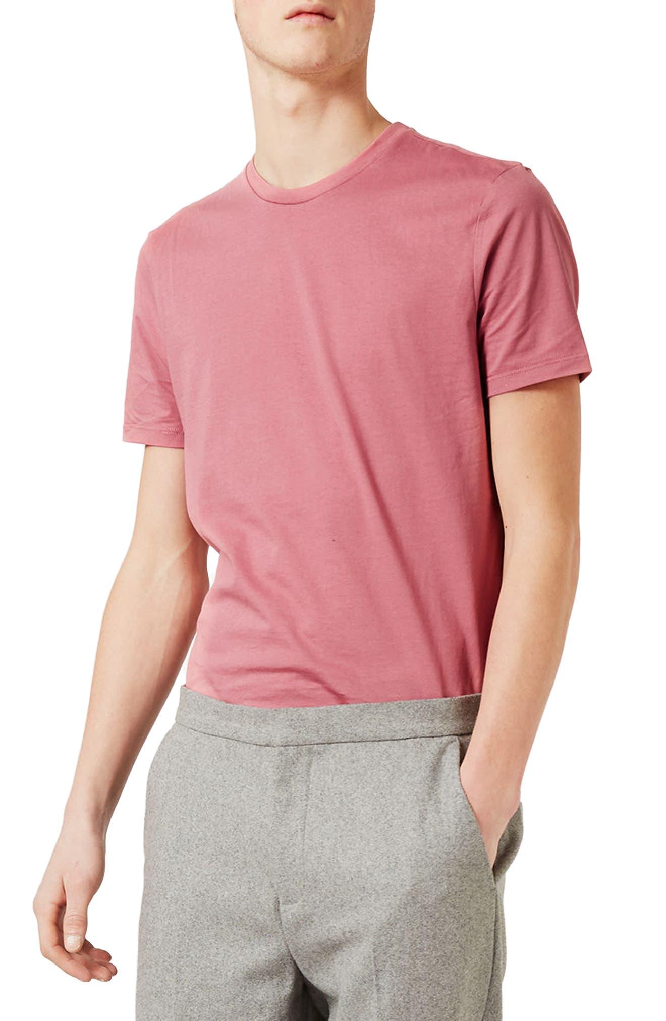 Slim Fit Crewneck T-Shirt,                             Main thumbnail 87, color,