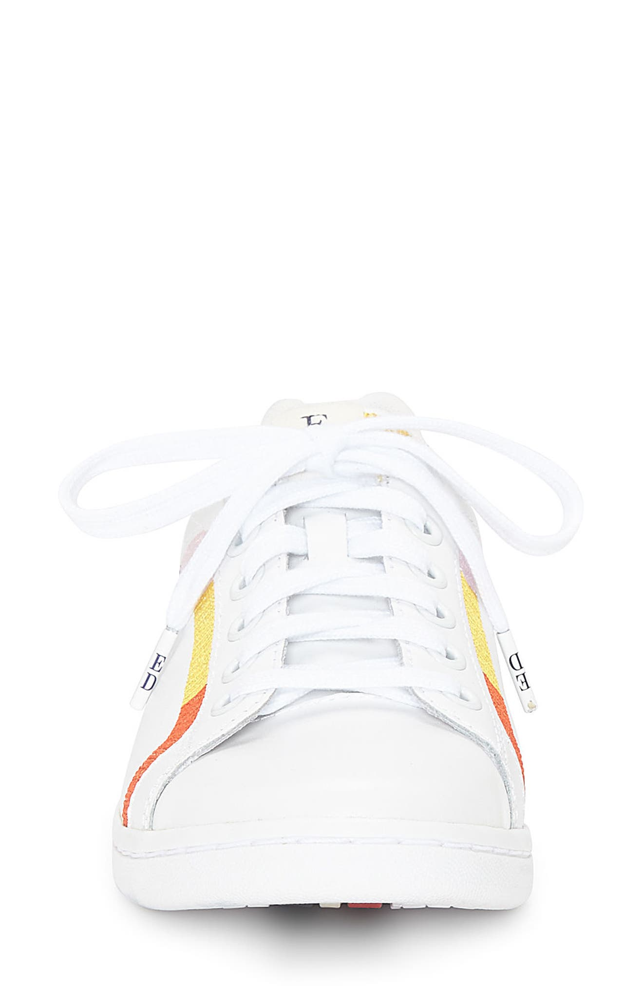 Costella Sneaker,                             Alternate thumbnail 4, color,                             PURE WHITE LEATHER