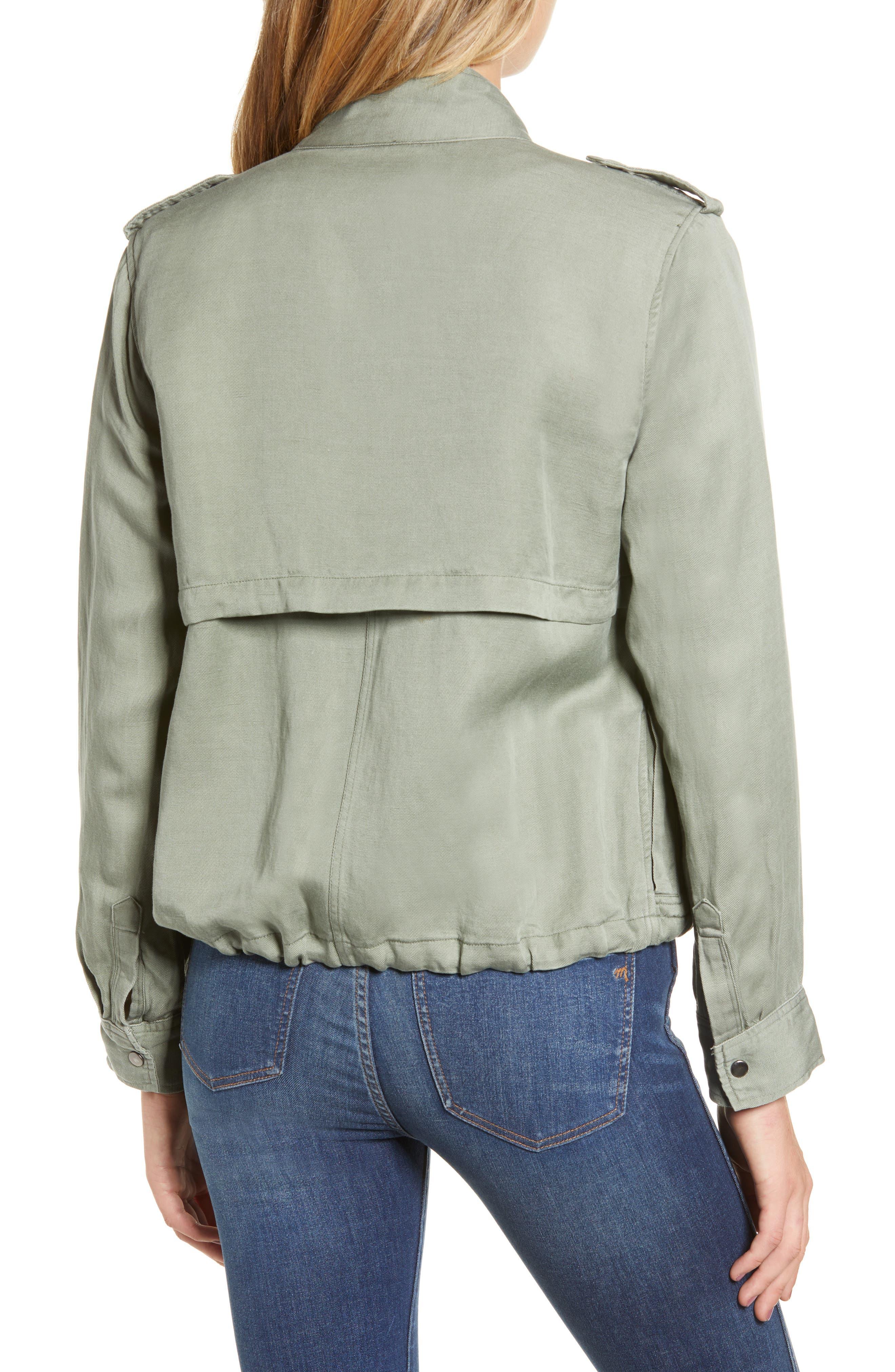 Collins Military Jacket,                             Alternate thumbnail 2, color,                             SAGE