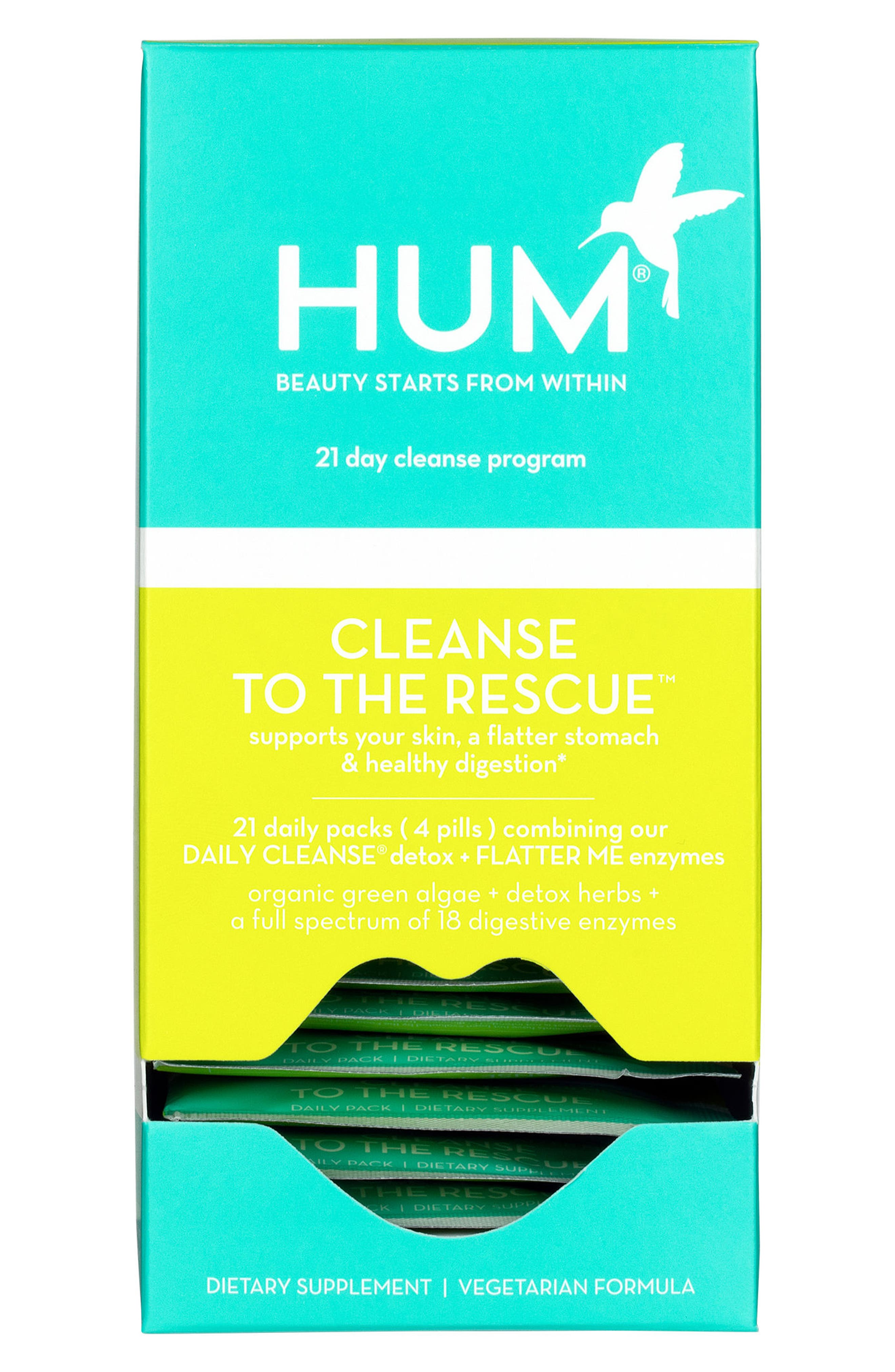 Cleanse to the Rescue 21-Day Cleanse Regimen,                         Main,                         color, NO COLOR