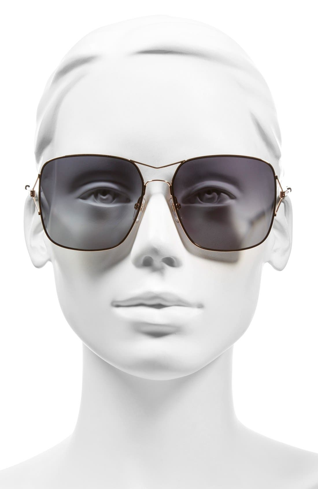 58mm Sunglasses,                             Alternate thumbnail 7, color,