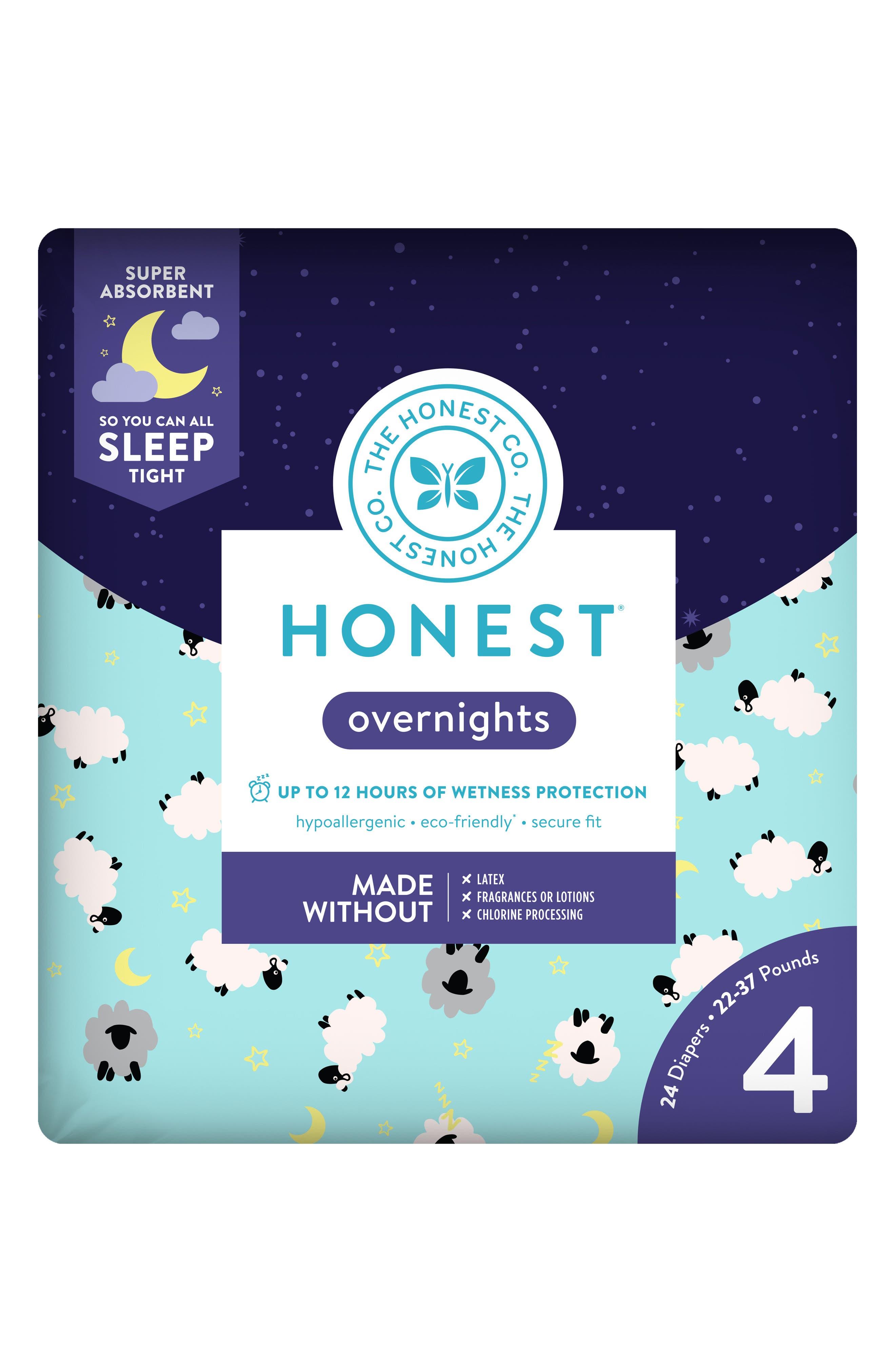 Sleepy Sheep Overnight Diapers,                             Alternate thumbnail 2, color,                             SLEEPY SHEEP