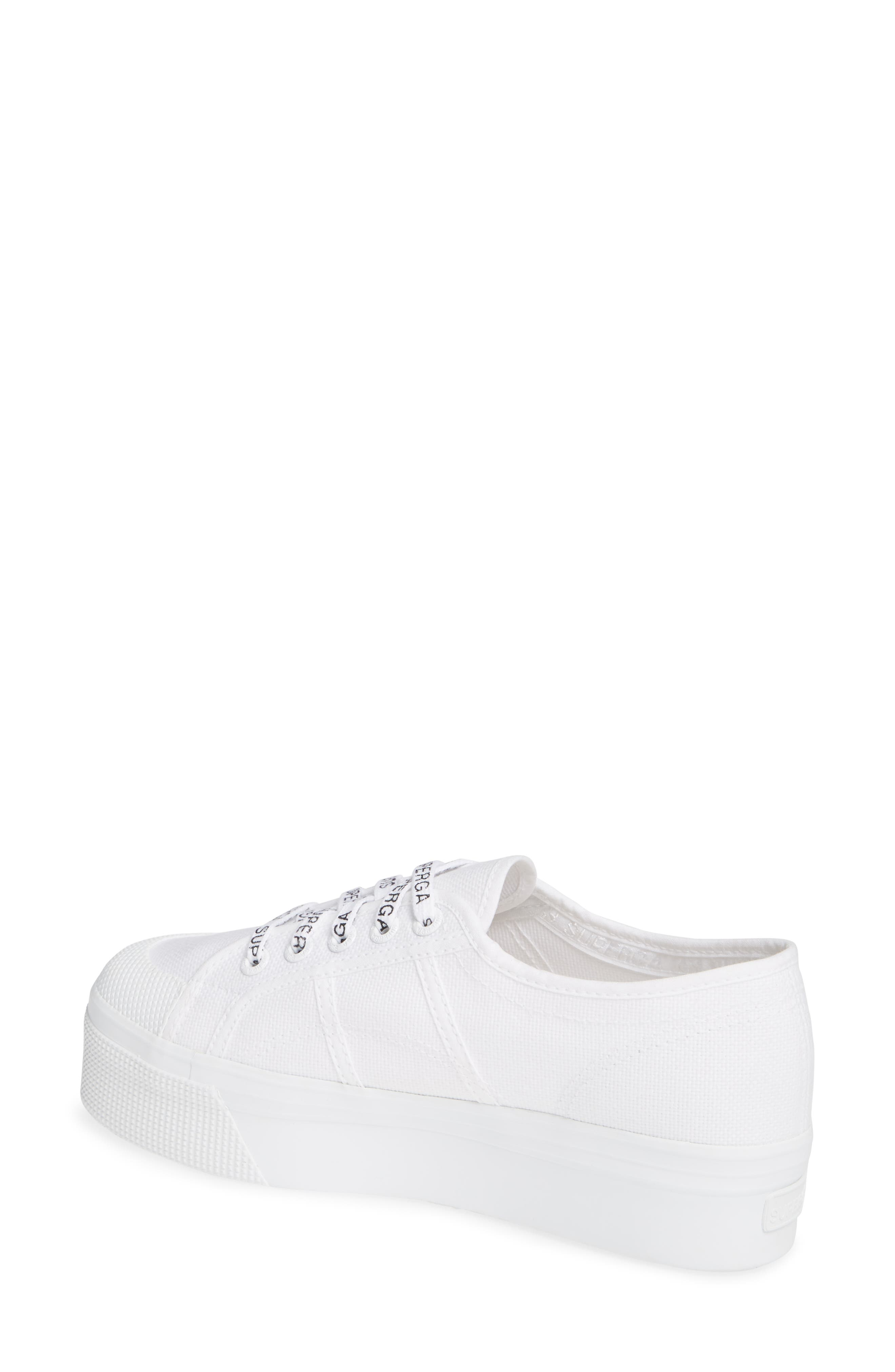 2405 Cotu Platform Sneaker,                             Alternate thumbnail 2, color,                             WHITE/ WHITE