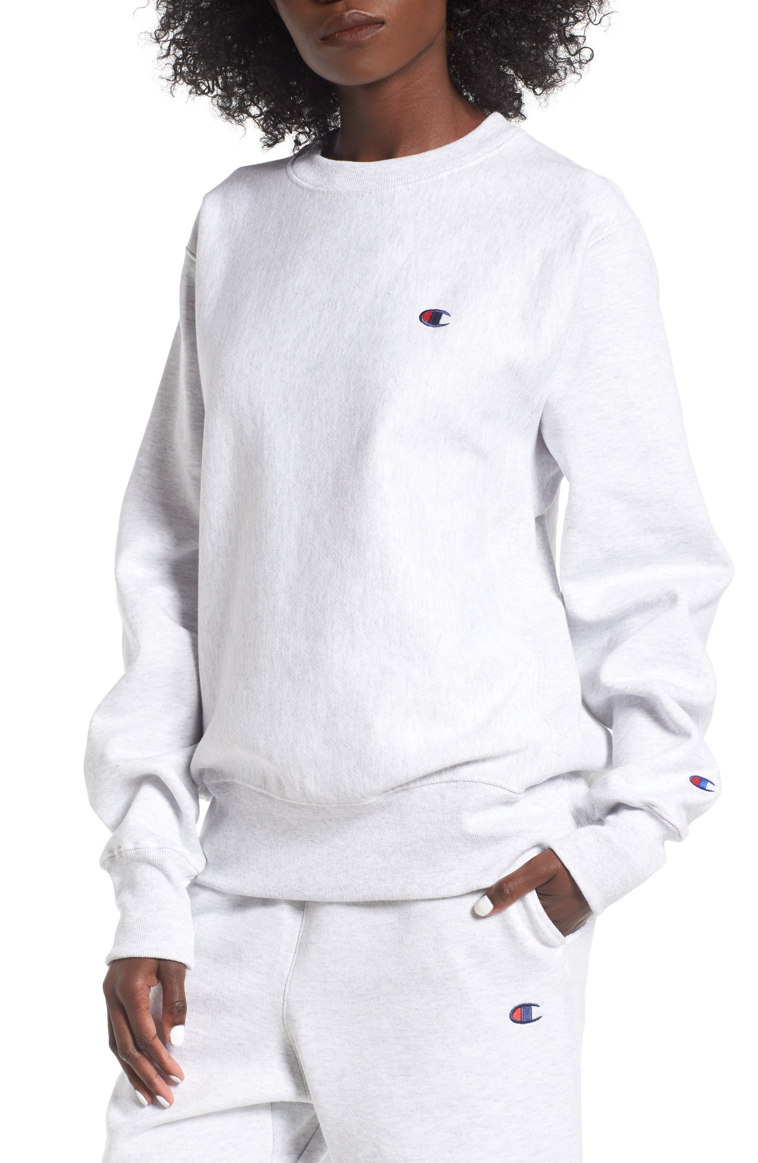 Crewneck Sweatshirt,                             Main thumbnail 1, color,                             020