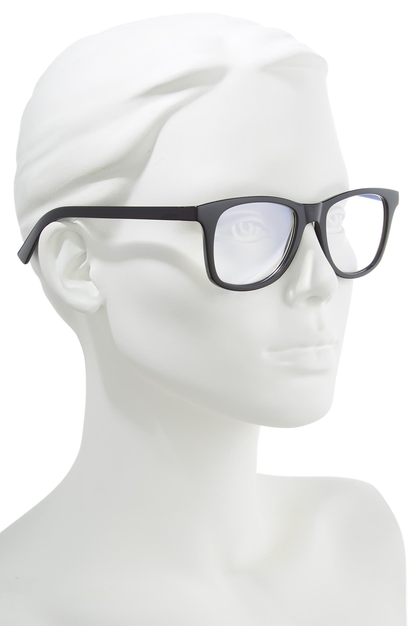 Grime in Banishment 52mm Reading Glasses,                             Alternate thumbnail 2, color,                             BLACK
