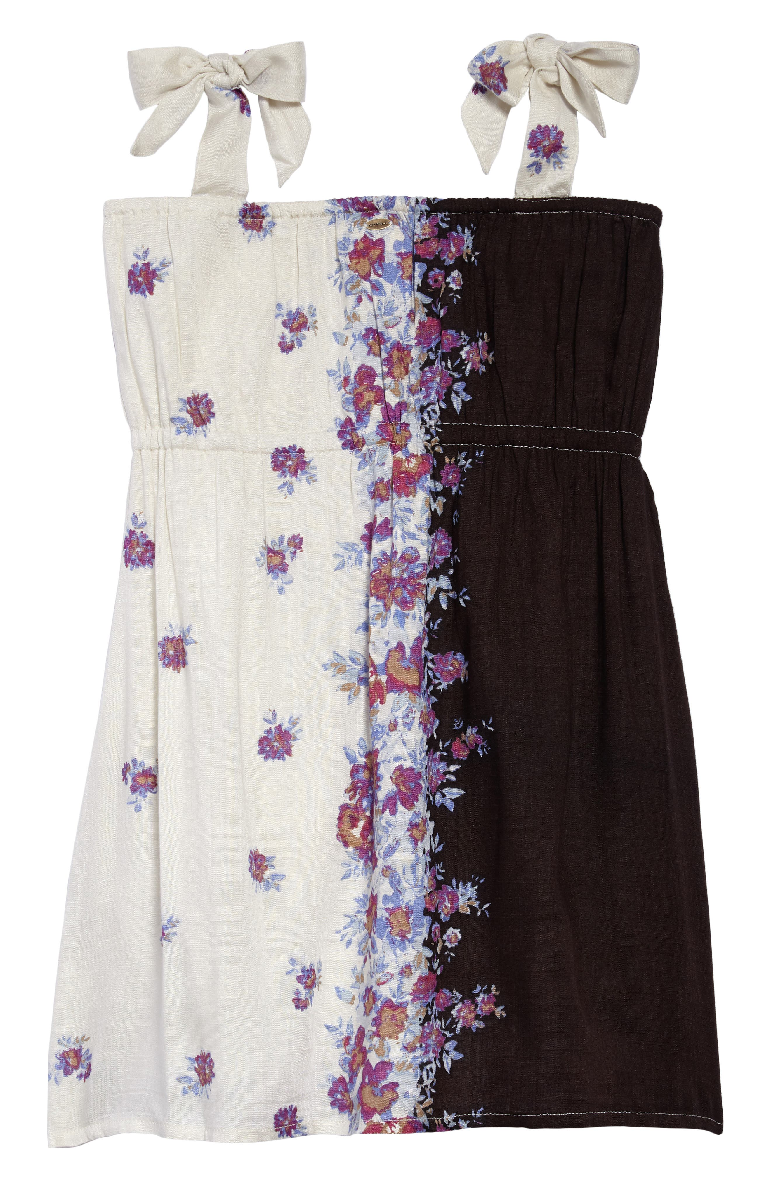 Rosy Floral Dress,                             Alternate thumbnail 2, color,                             MULTI COLORED