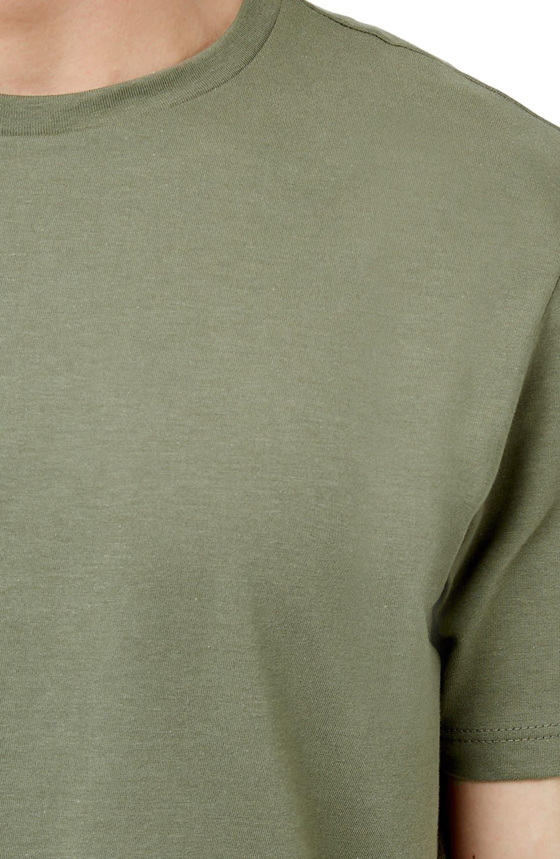 Slim Fit Crewneck T-Shirt,                             Alternate thumbnail 406, color,